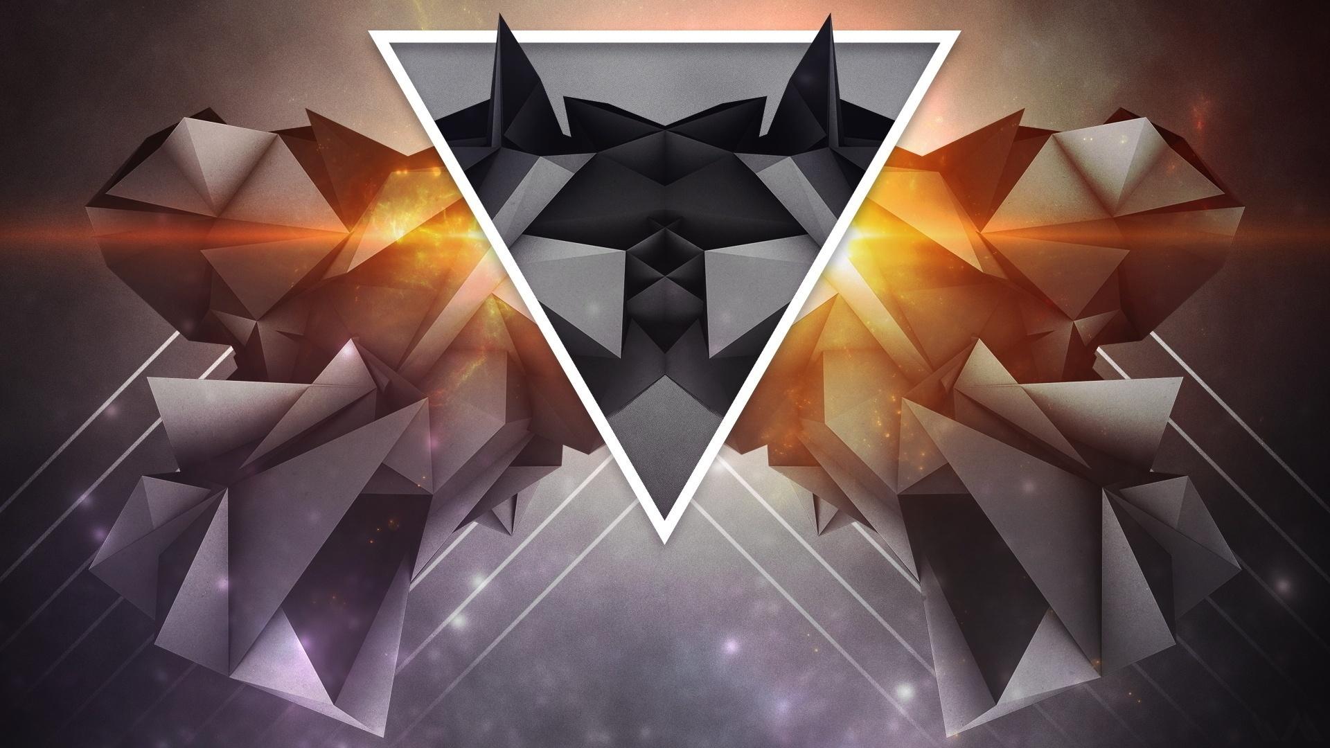 Shapes Triangle desktop wallpaper hd