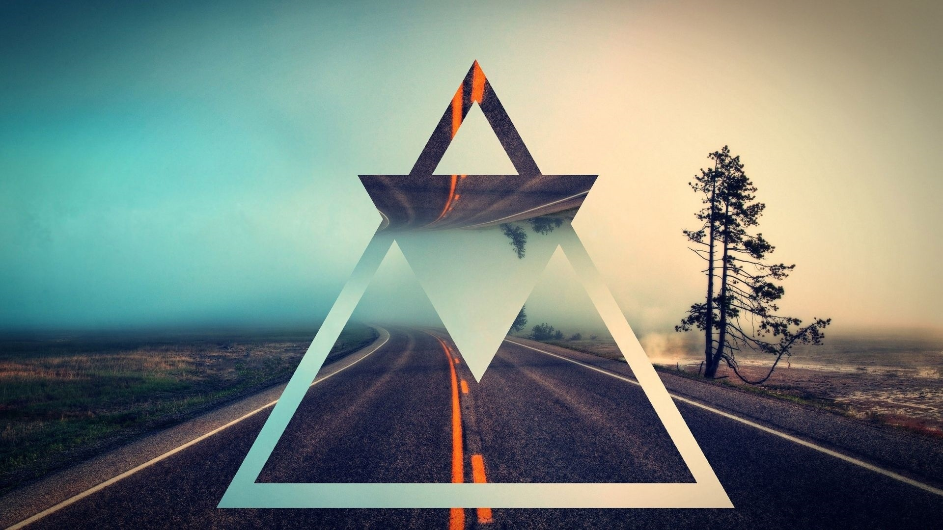 Shapes Triangle Wallpaper theme