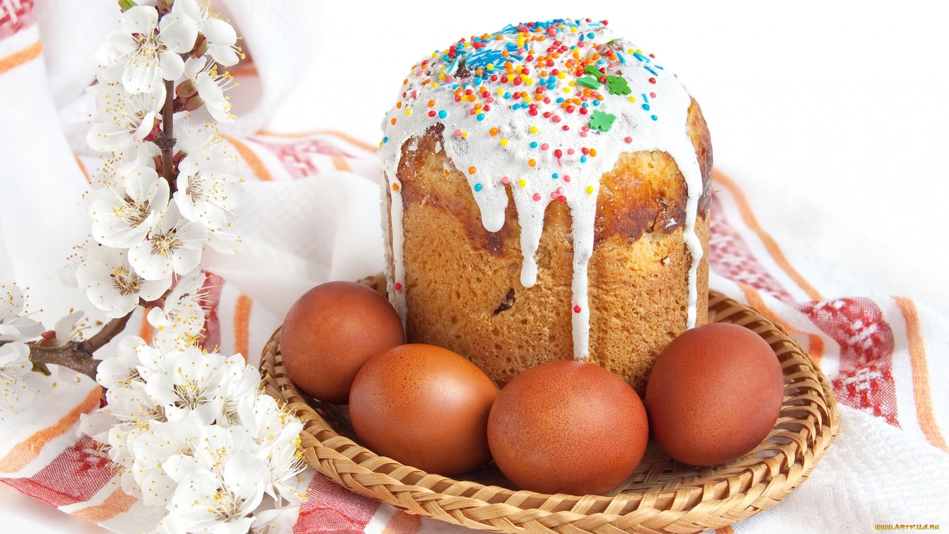 Easter Cake Wallpaper theme