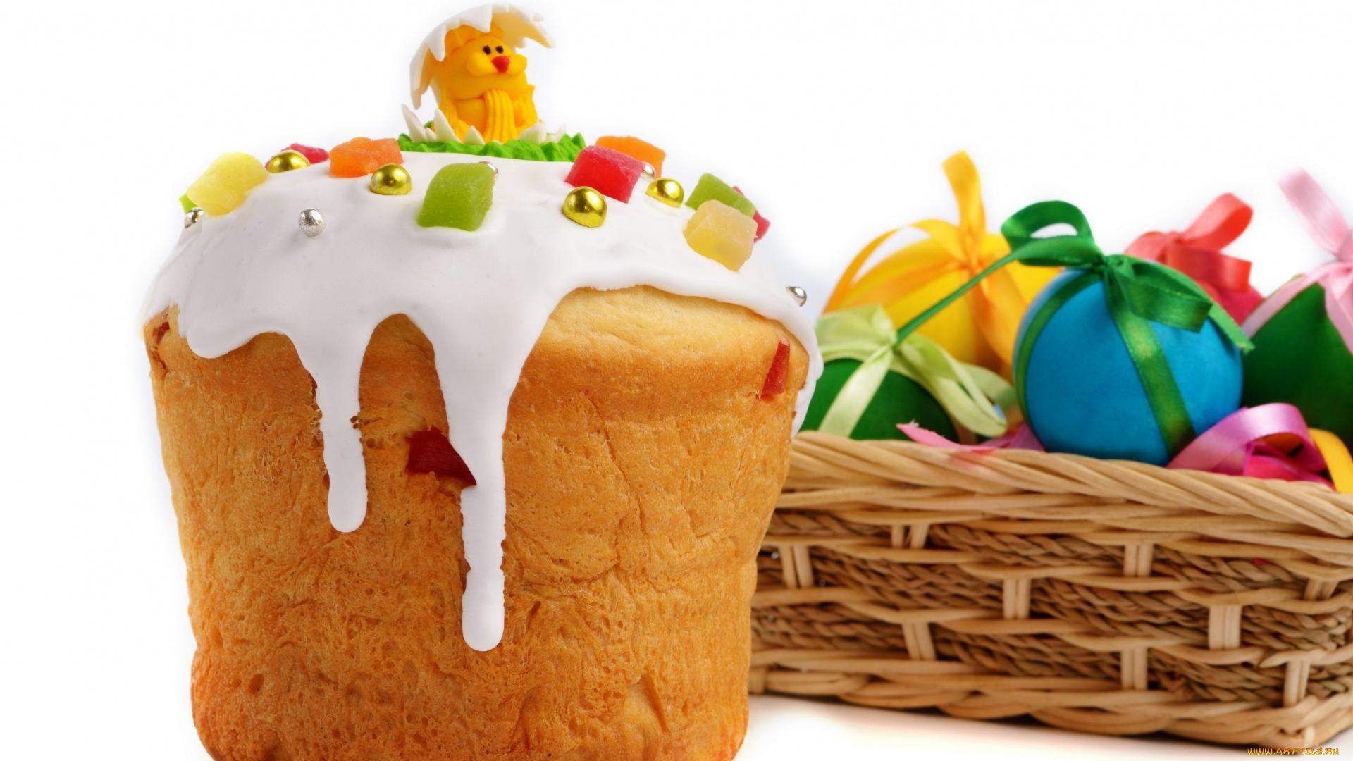 Easter Cake HD Wallpaper
