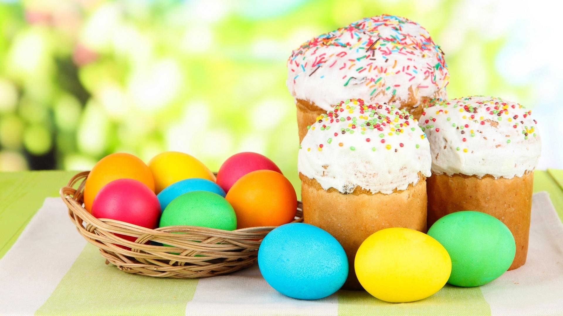 Easter Cake Wallpaper