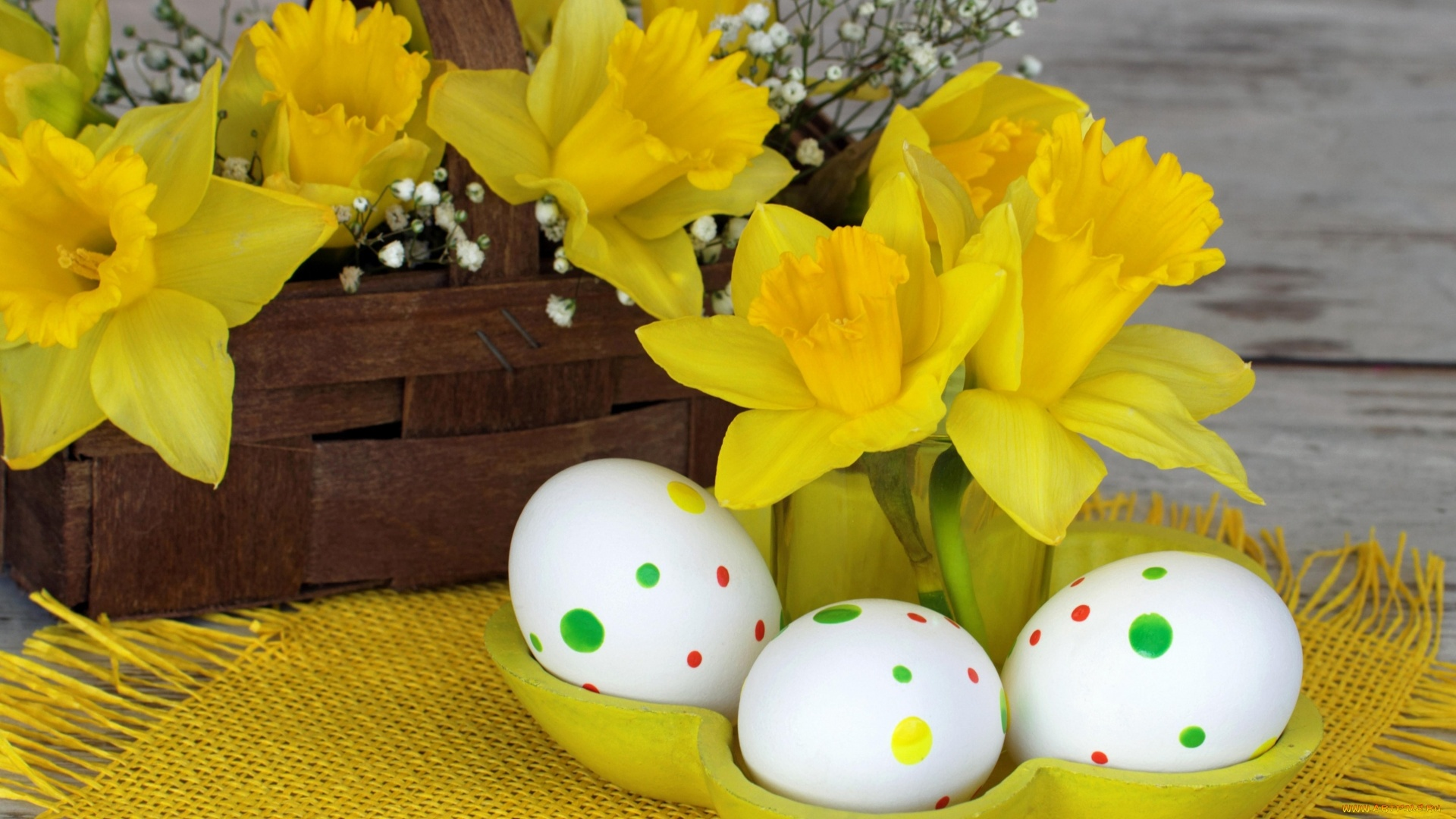 Easter Flowers Picture