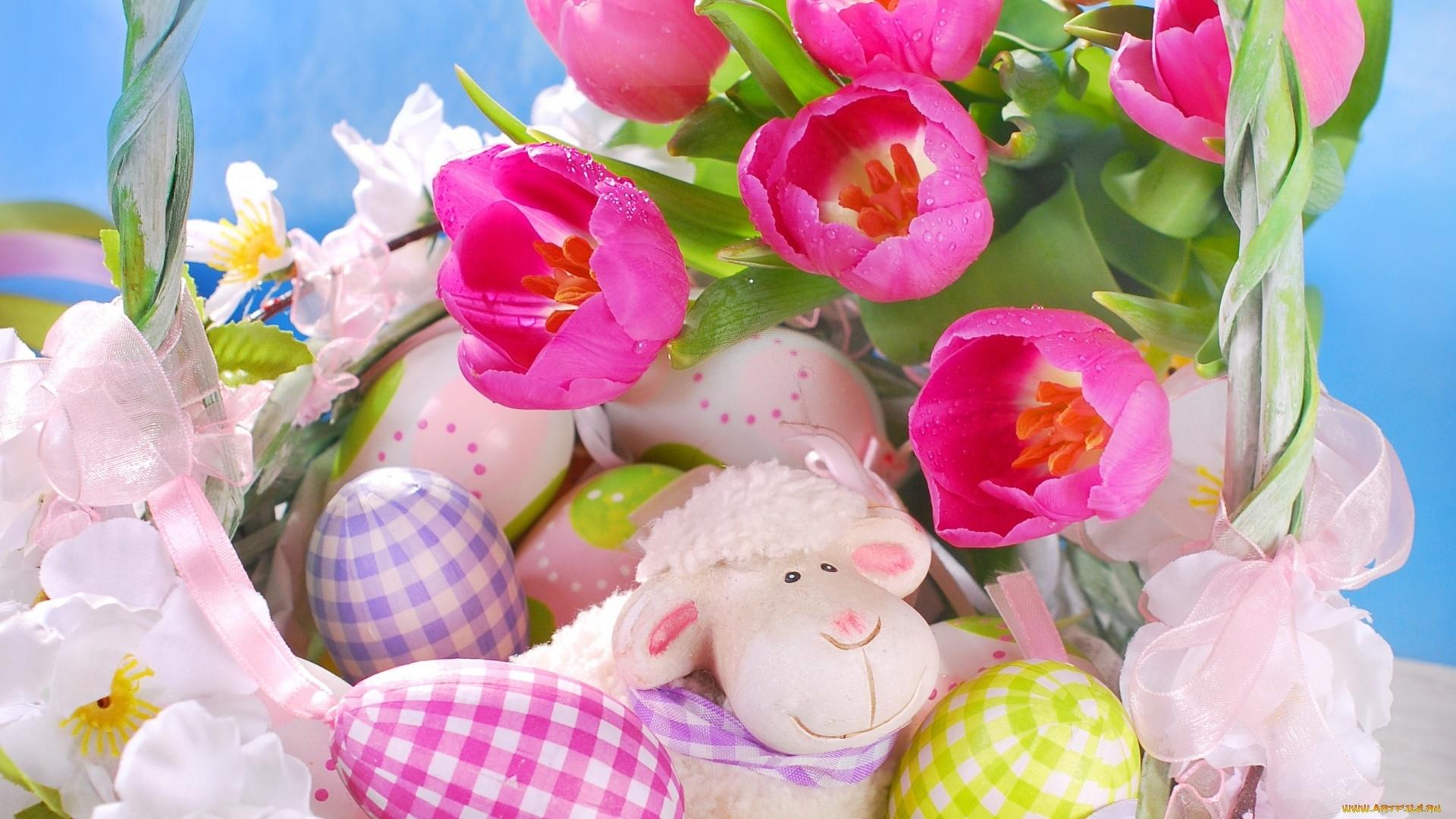 Easter Flowers wallpaper for desktop