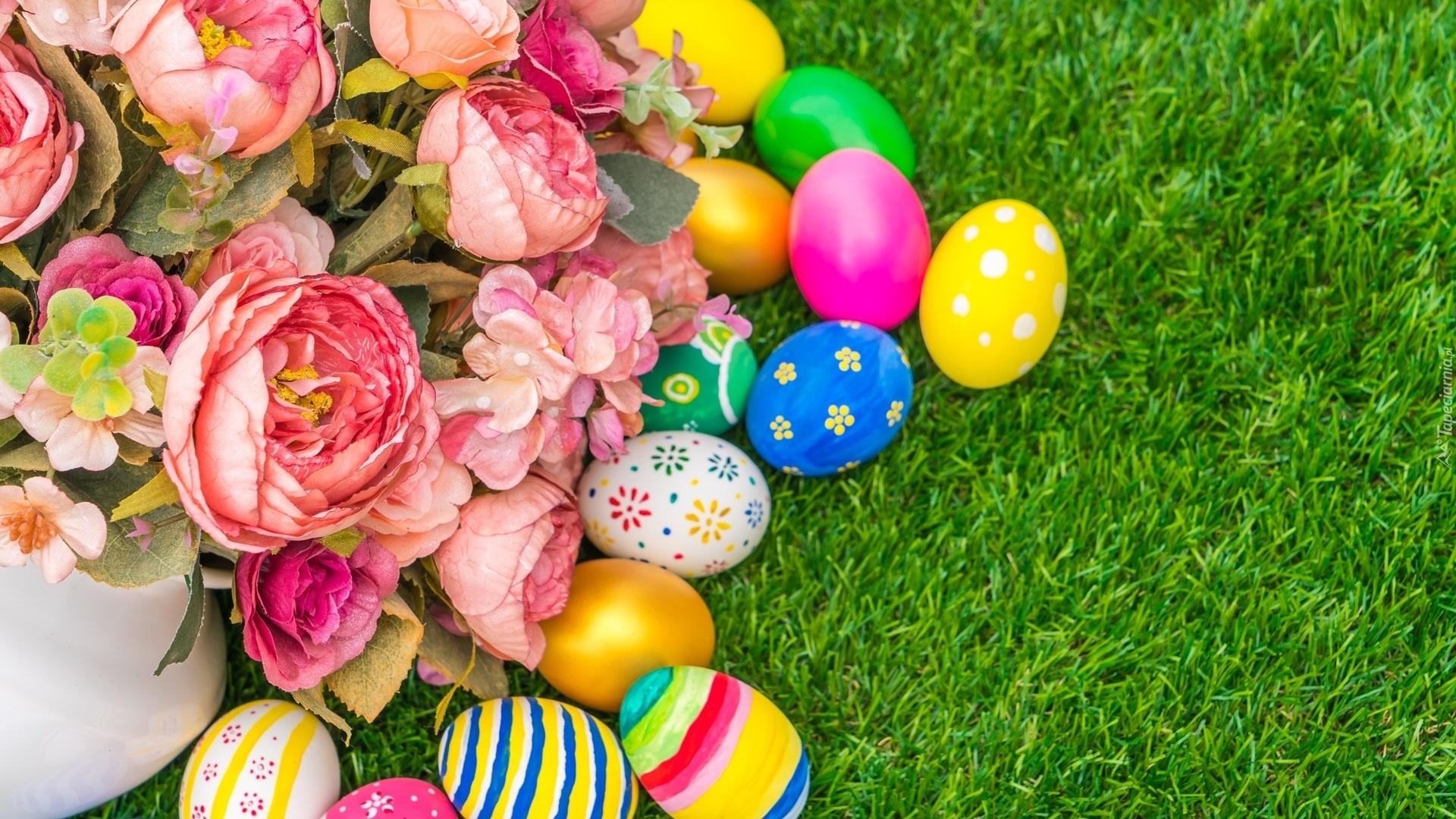 Easter Flowers desktop wallpaper hd