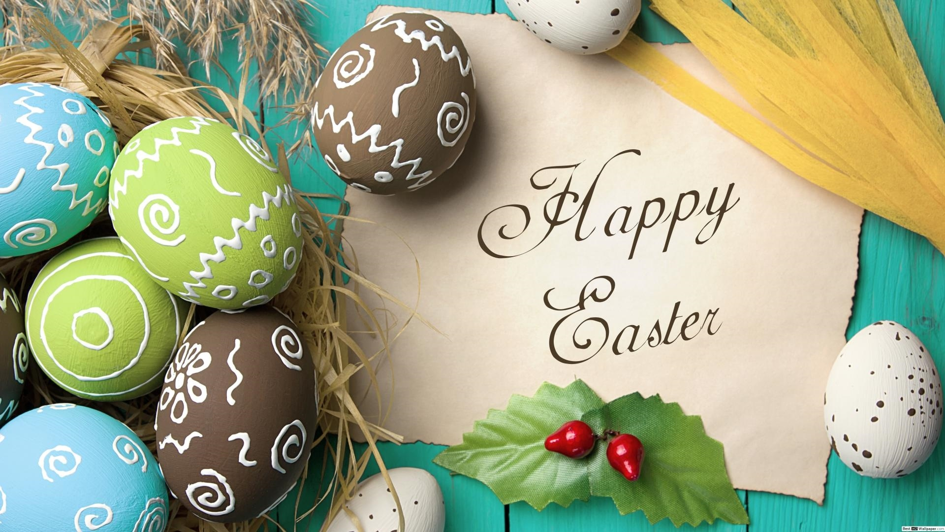 Happy Easter Wallpaper theme