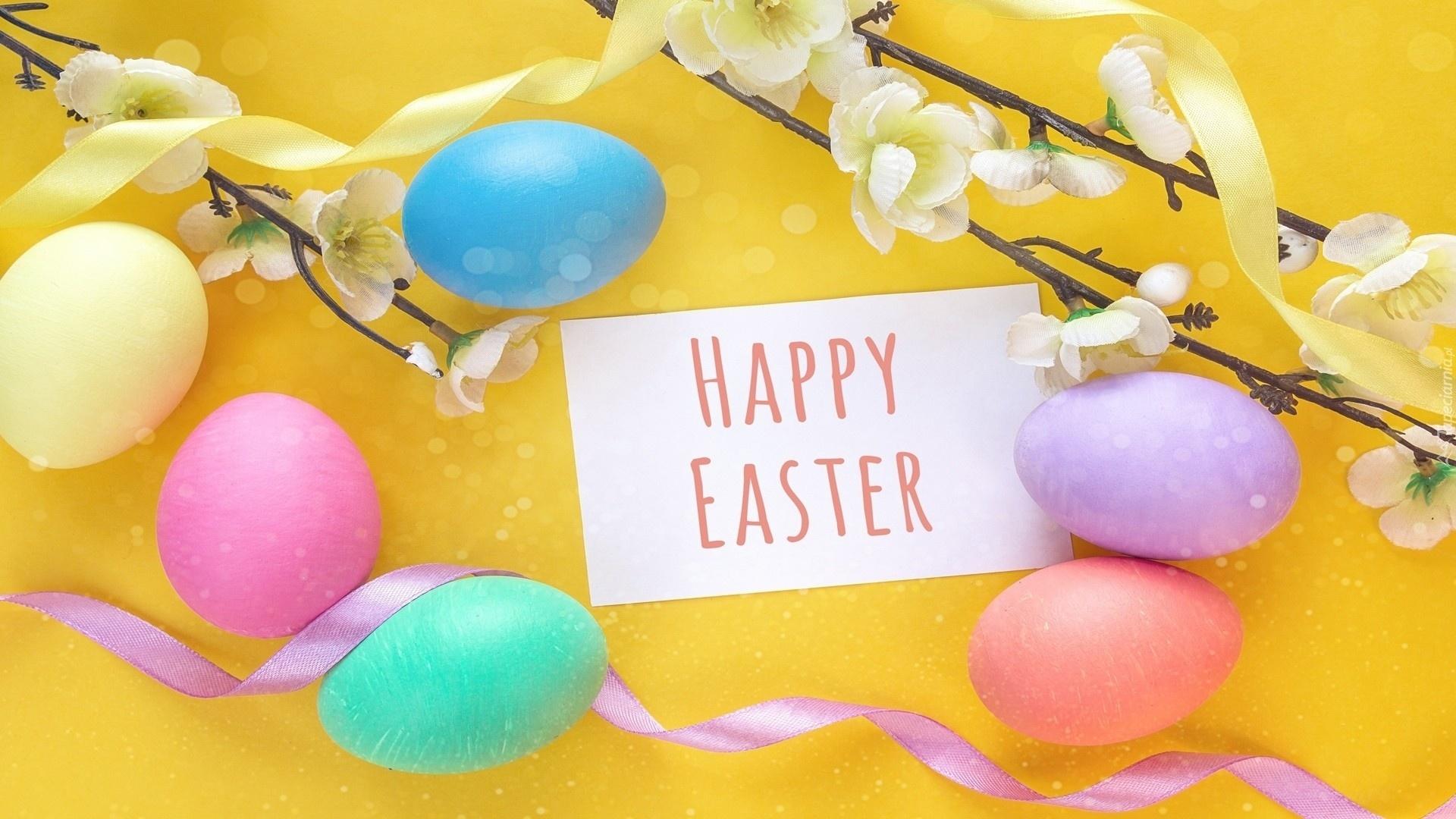 Happy Easter wallpaper for desktop