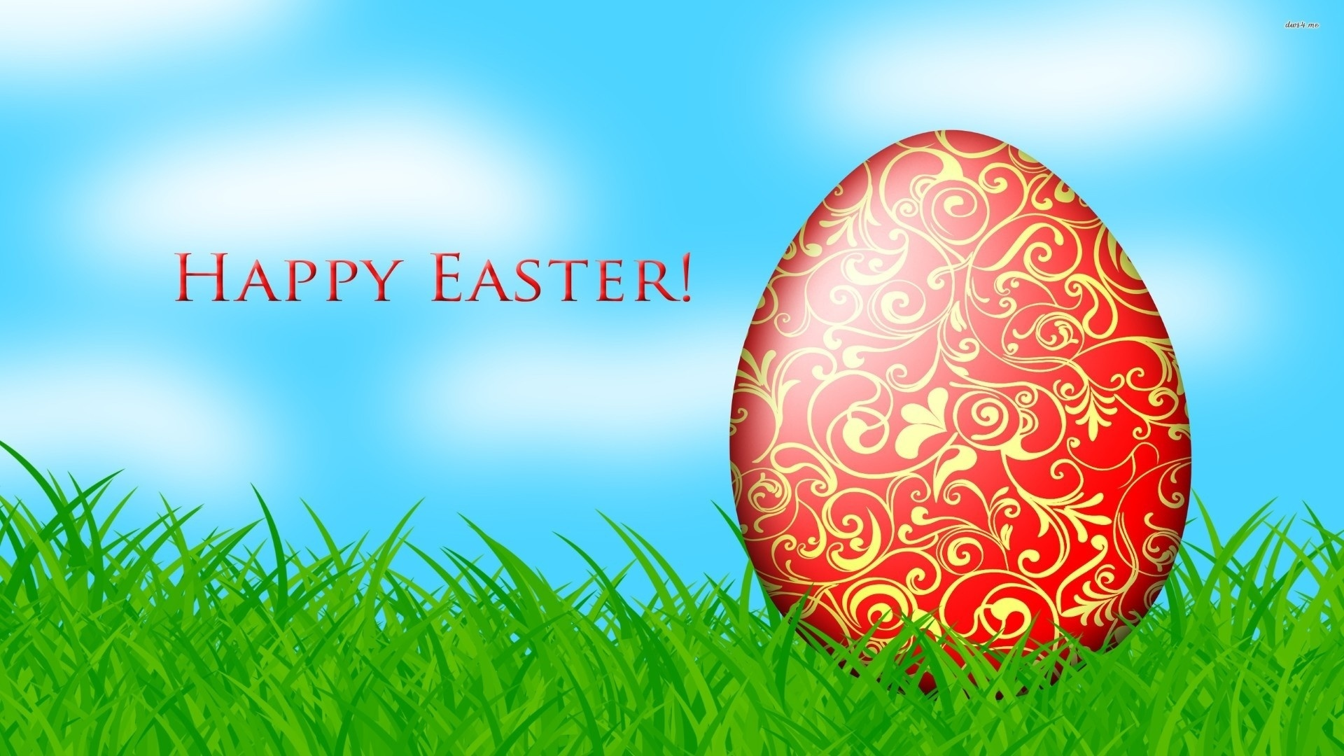 Happy Easter wallpaper for computer