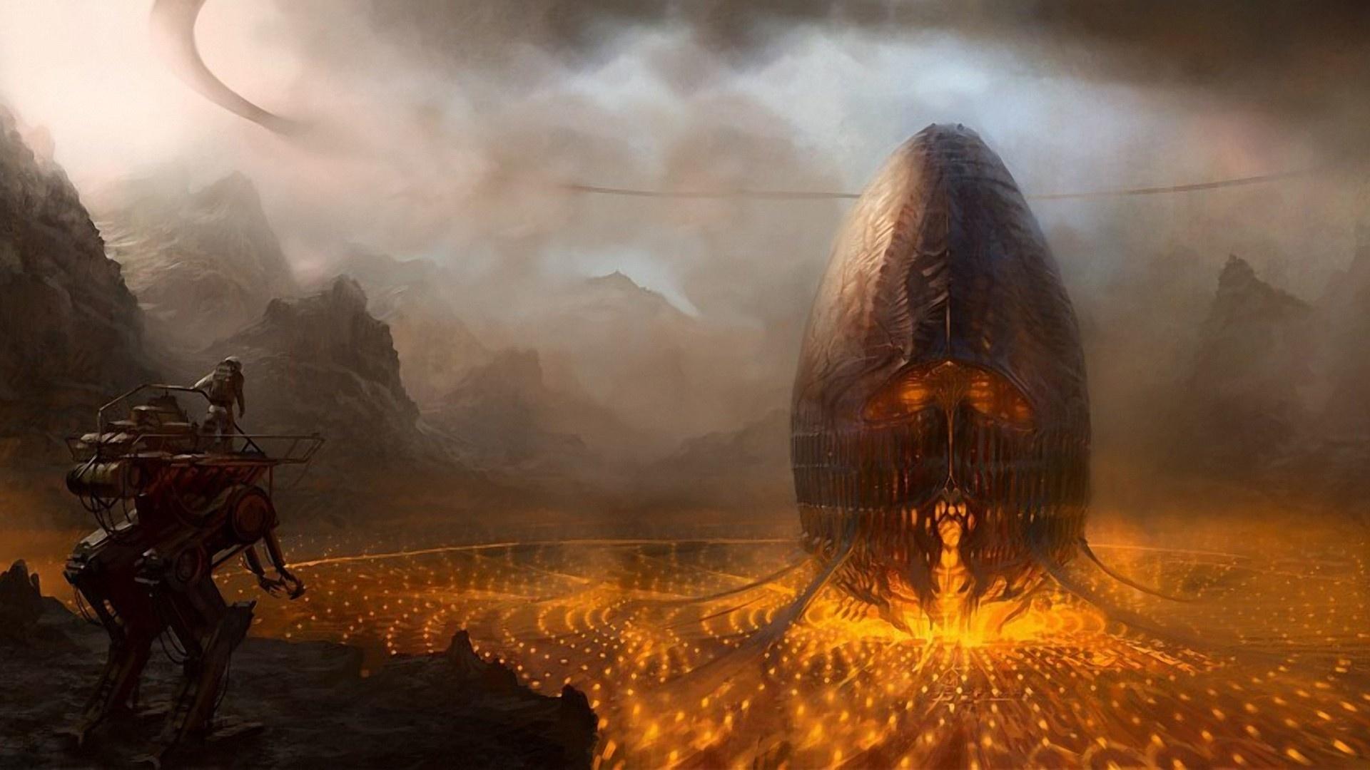 Alien Planet Art Picture