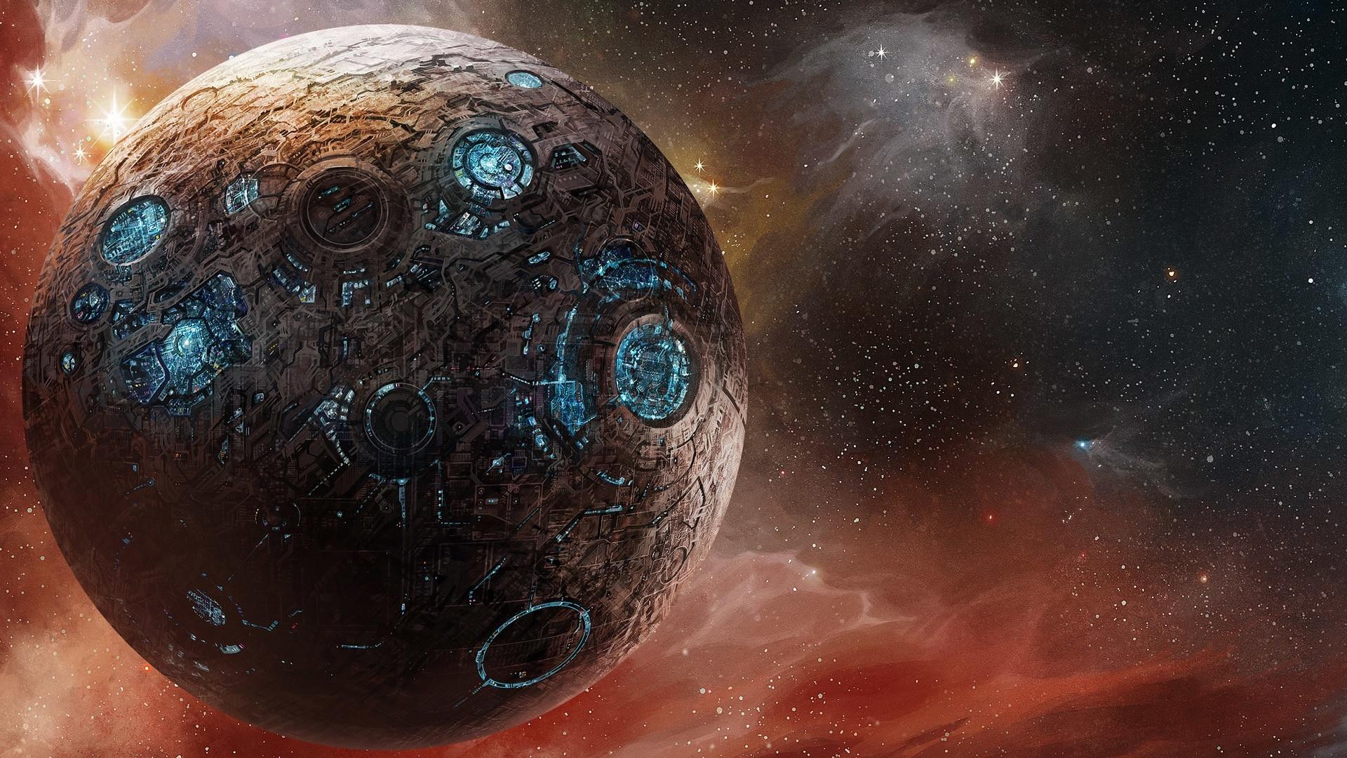 Alien Planet Art wallpaper for desktop
