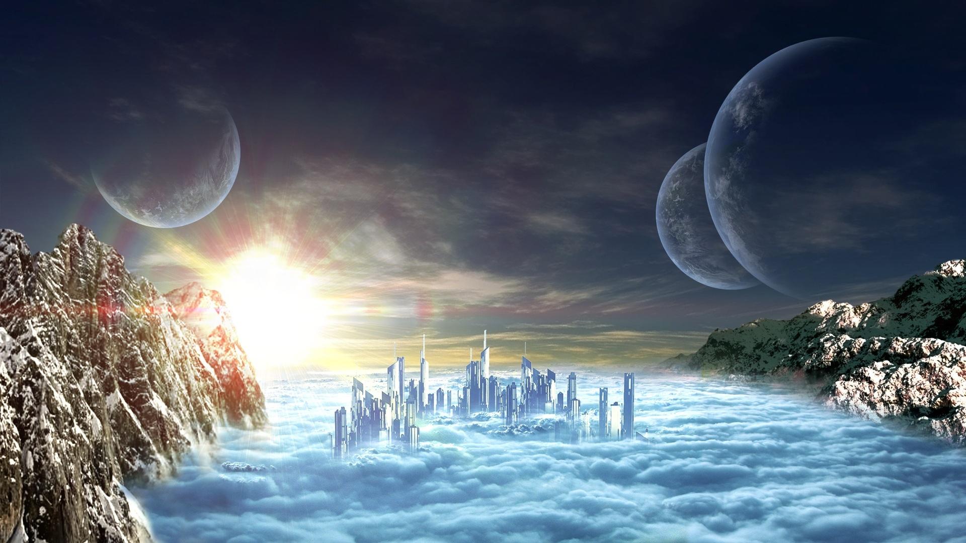 Alien Planet Art Wallpaper