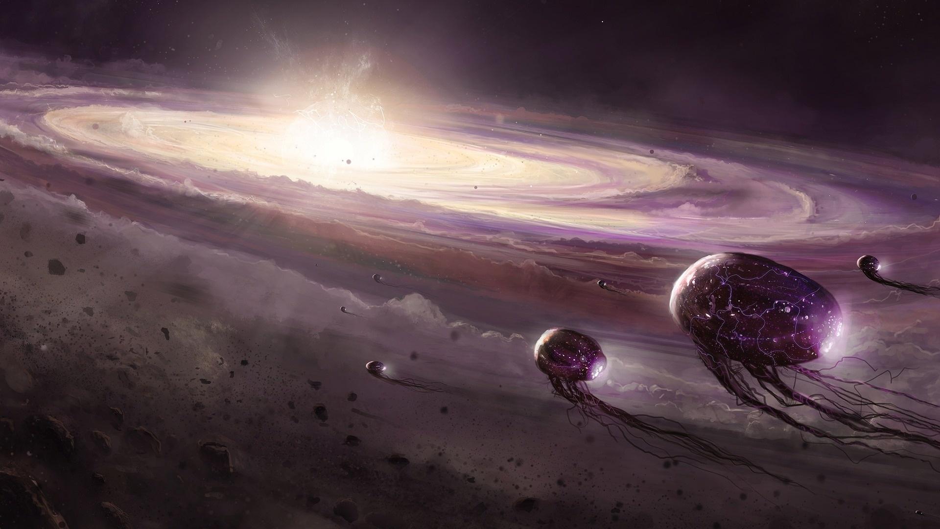 Alien Planet Art wallpaper for pc