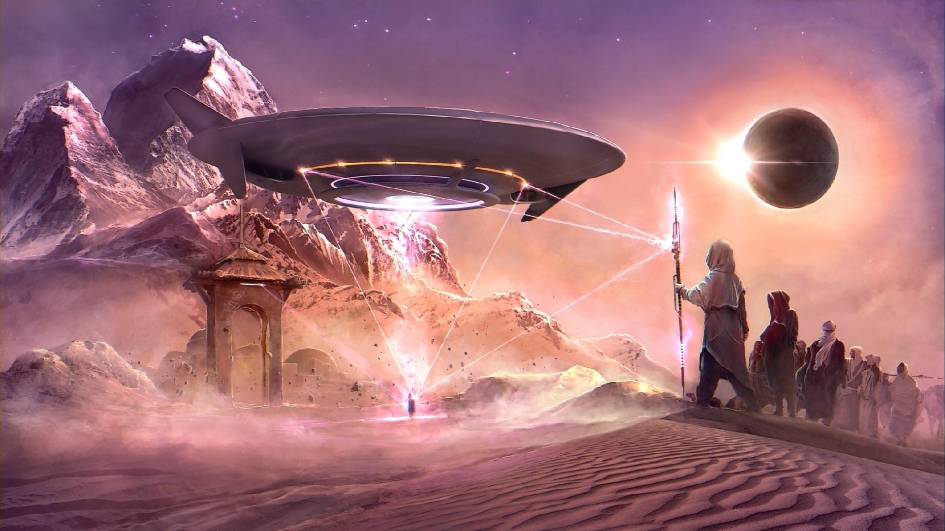 Alien Planet Art HD Wallpaper