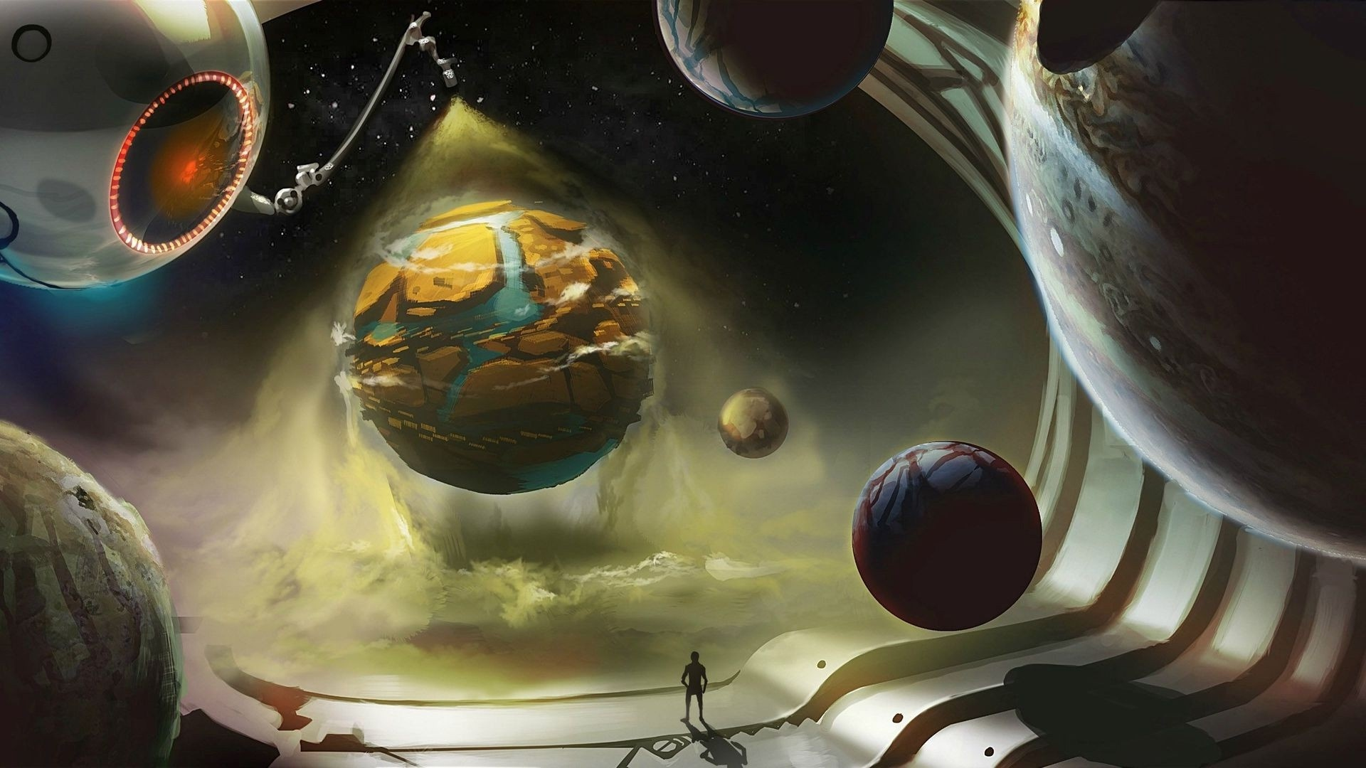 Alien Planet Art Pic