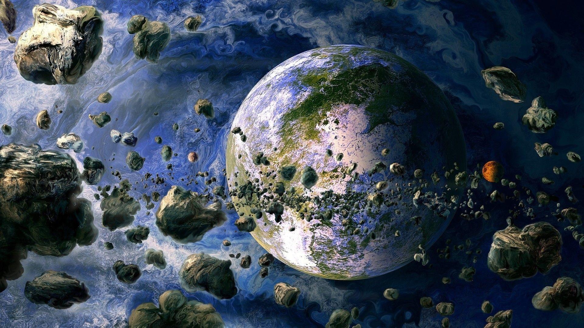Alien Planet Art desktop wallpaper hd
