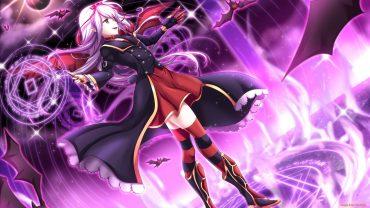 Anime Girl Magician HD Wallpaper