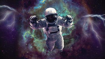 Astronaut Art Wallpaper