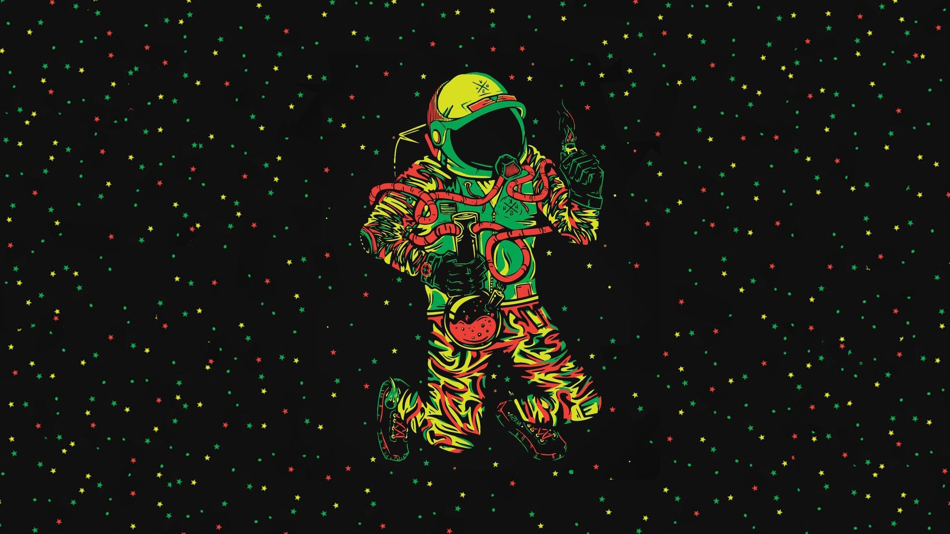 Astronaut Art wallpaper photo hd