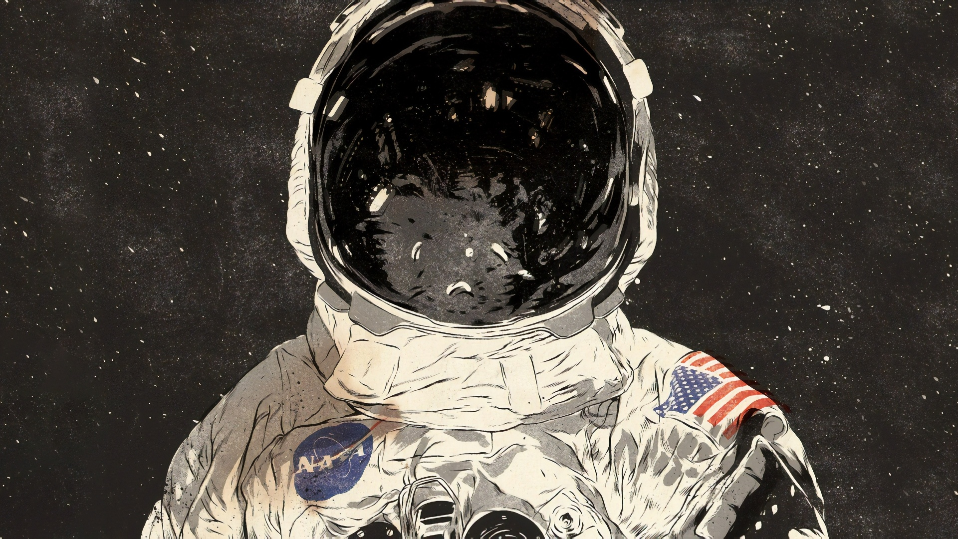 Astronaut Art computer wallpaper