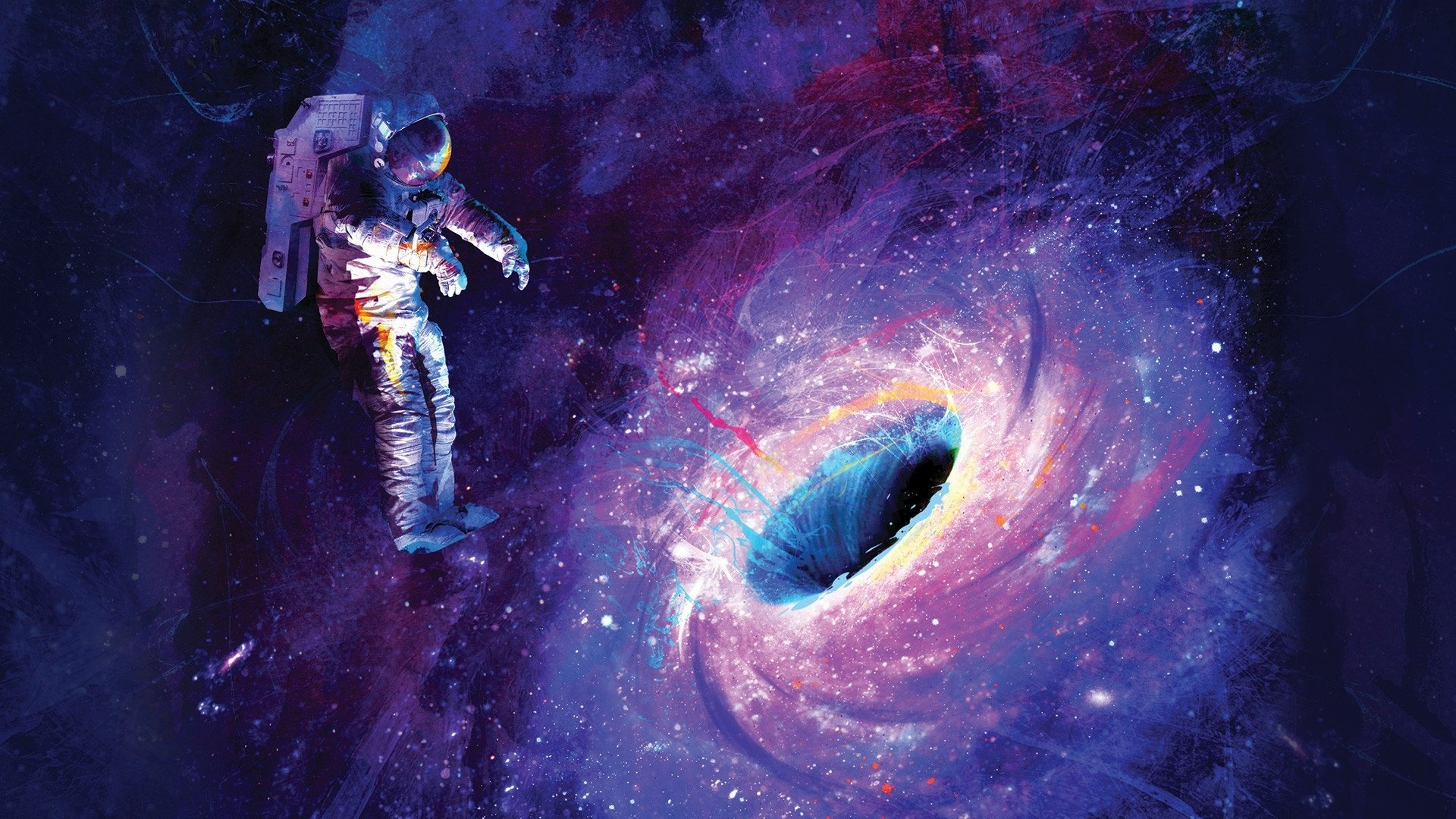 Astronaut Art Image