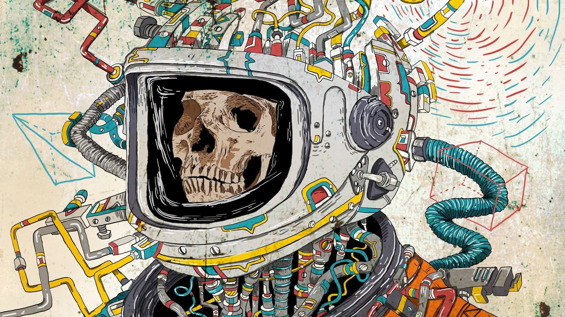 Astronaut Art wallpaper for pc