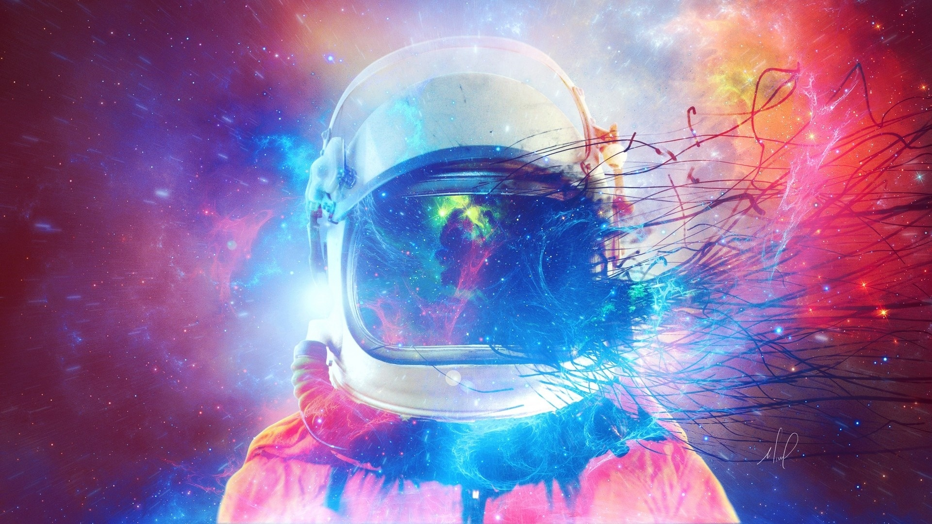 Astronaut Art Picture