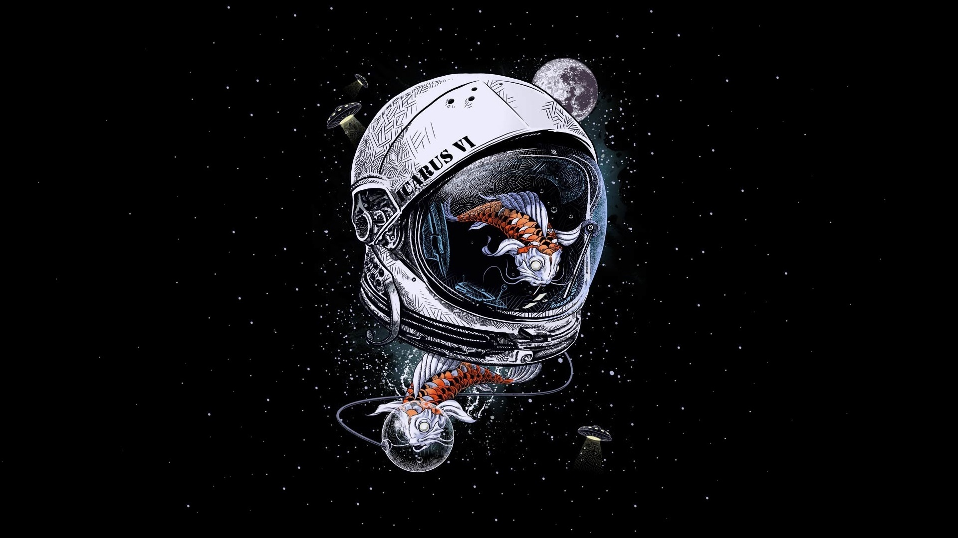 Astronaut Art wallpaper for computer
