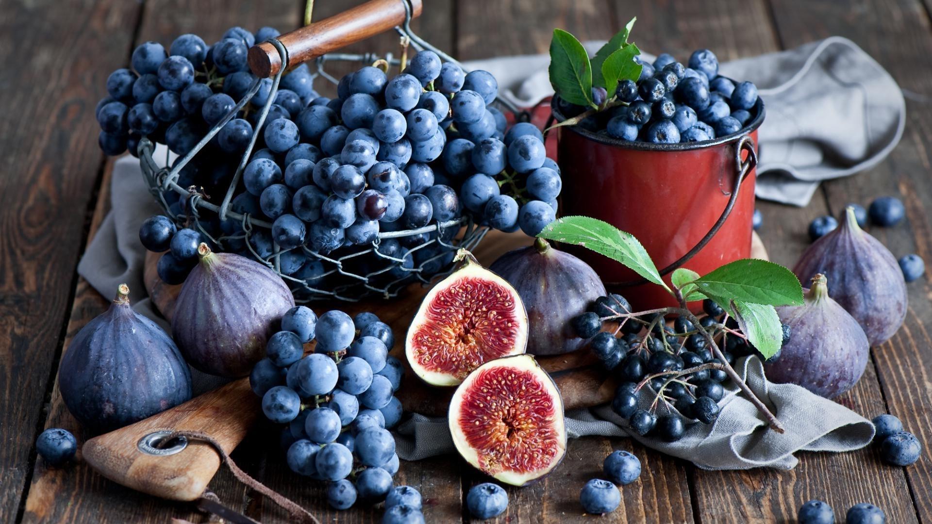Blueberries desktop wallpaper hd