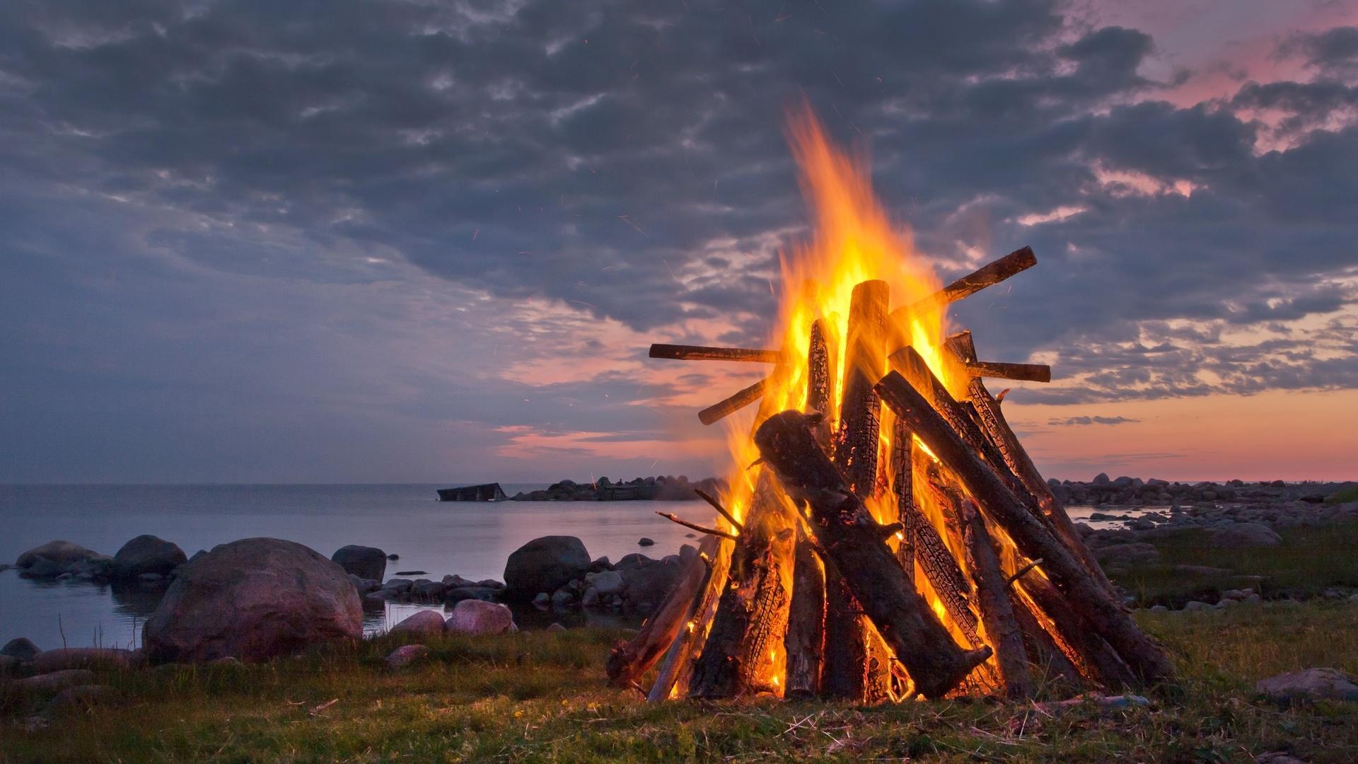 Bonfire Background