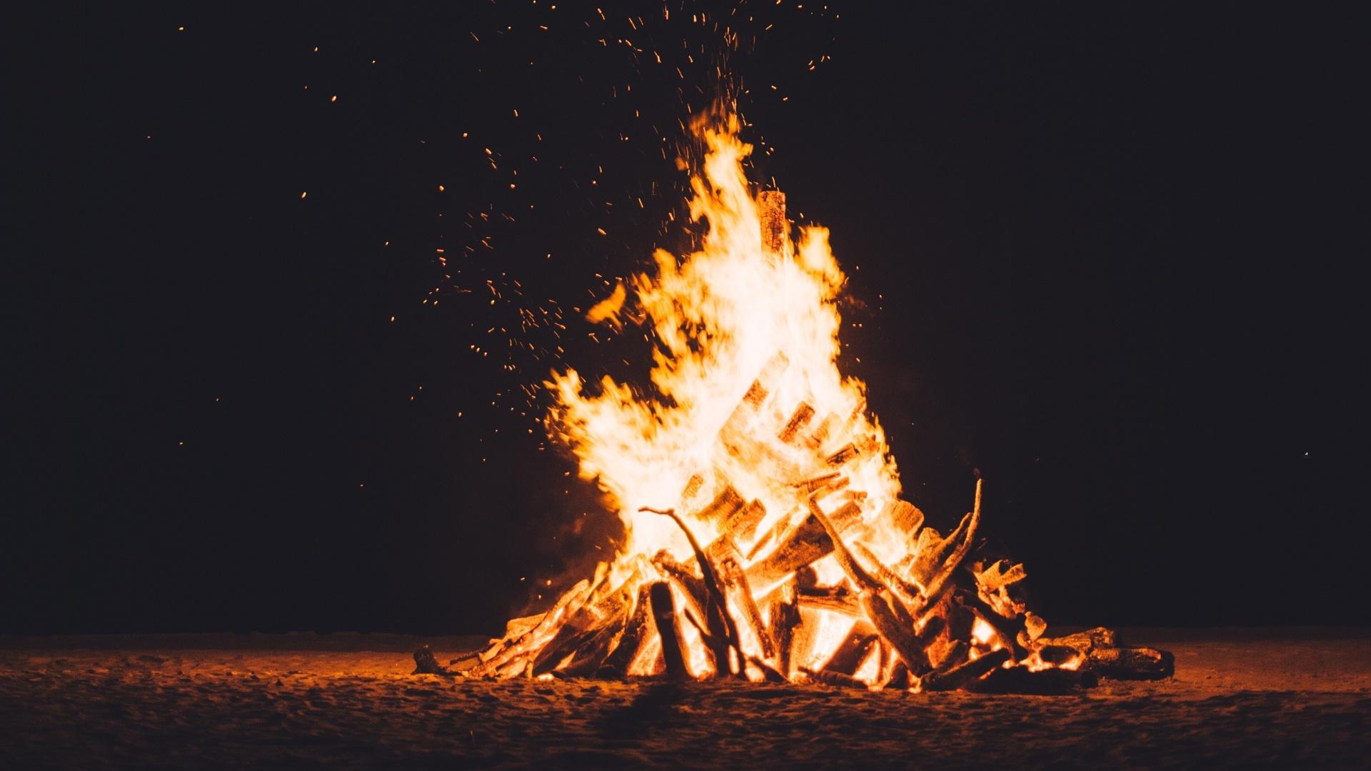 Bonfire Wallpaper