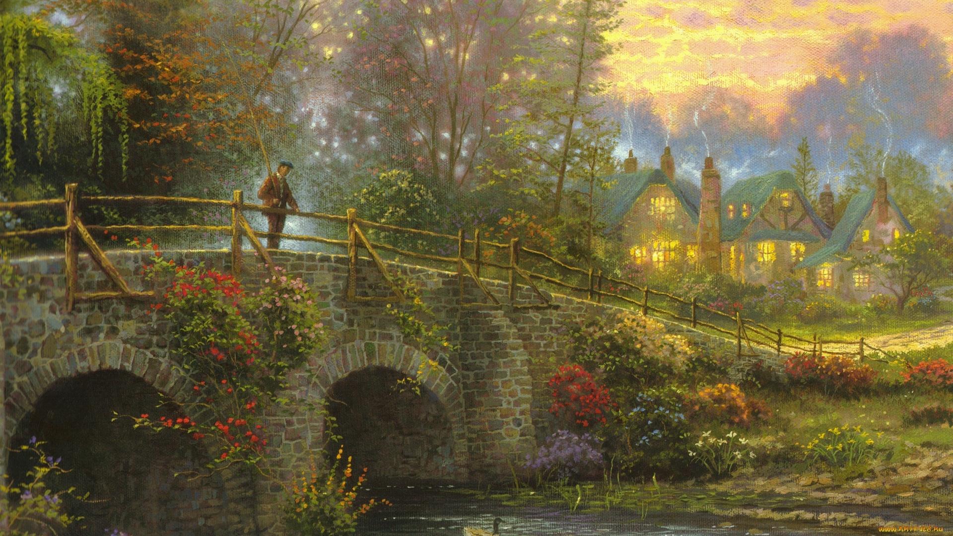 Bridge Art wallpaper for pc