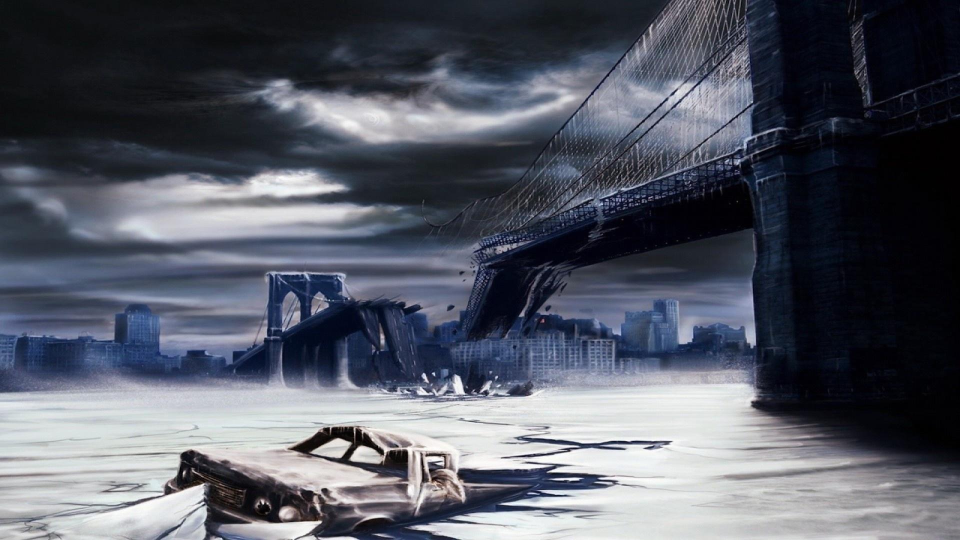Bridge Art Wallpaper