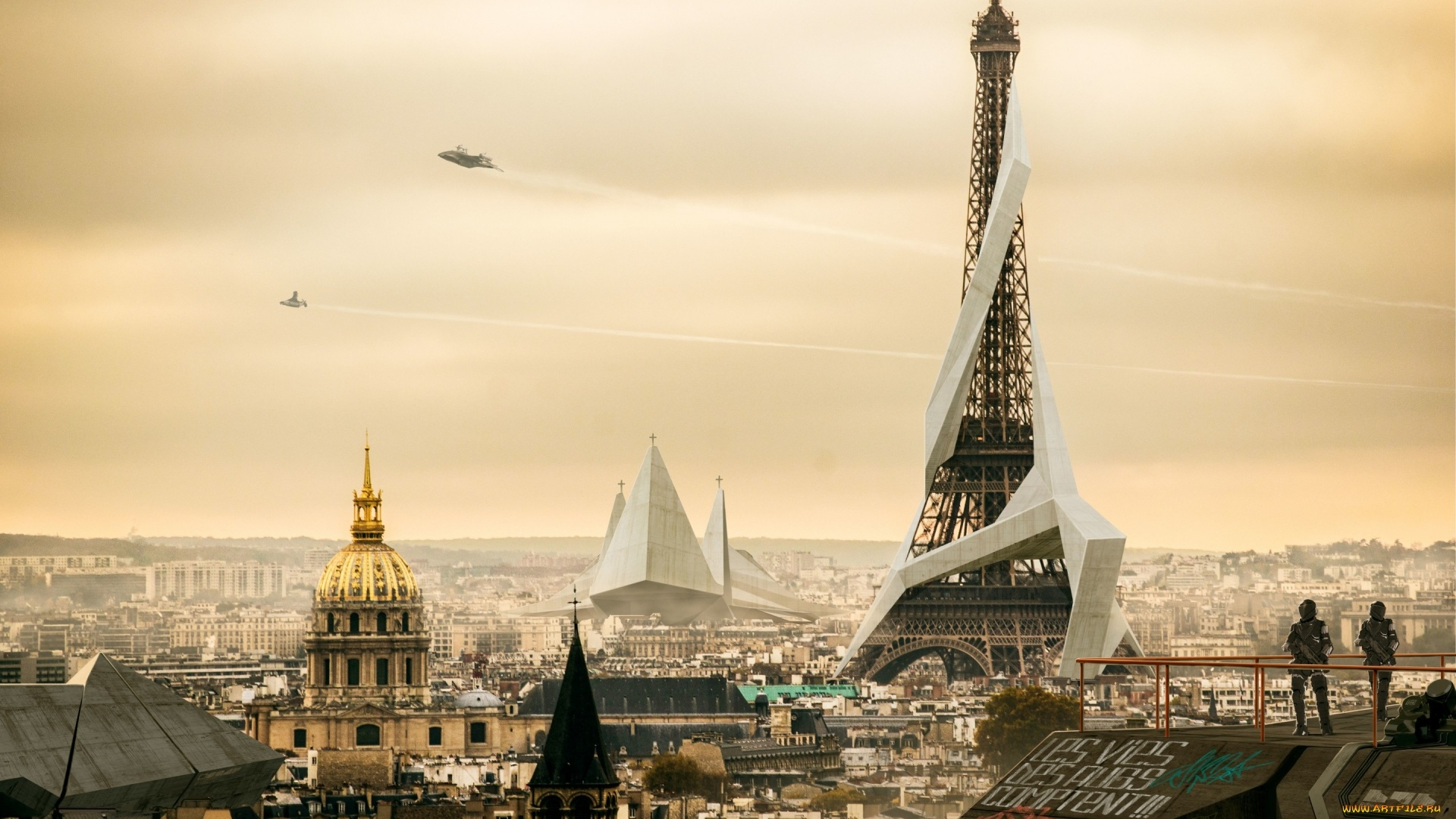 Eiffel Tower Art Picture