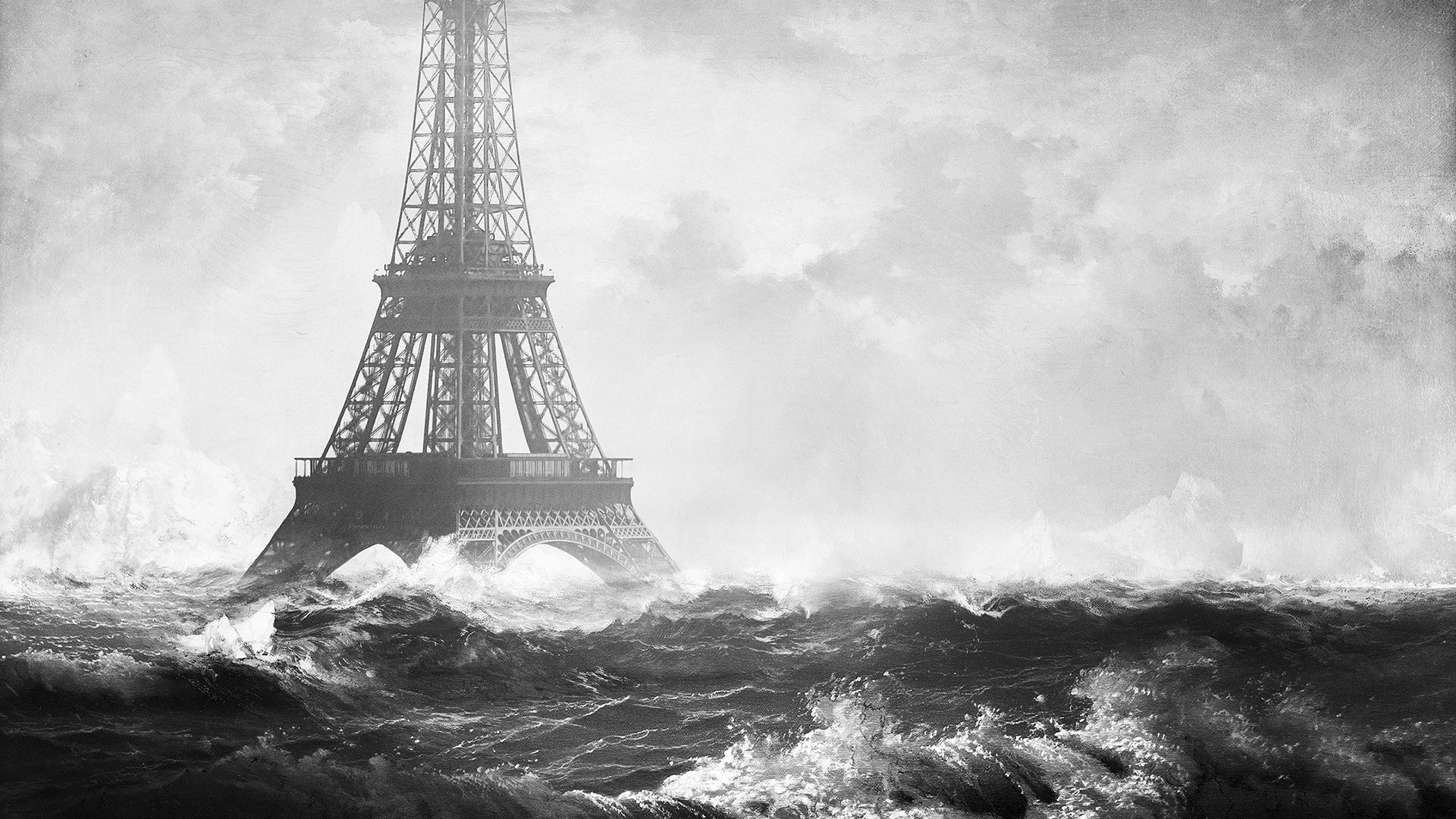 Eiffel Tower Art Image