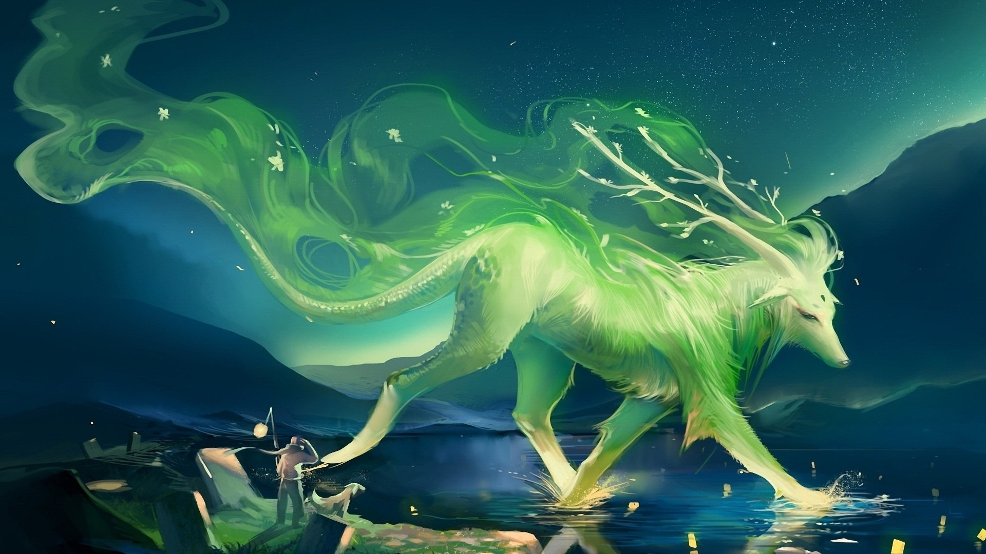 Mythical Creatures computer wallpaper