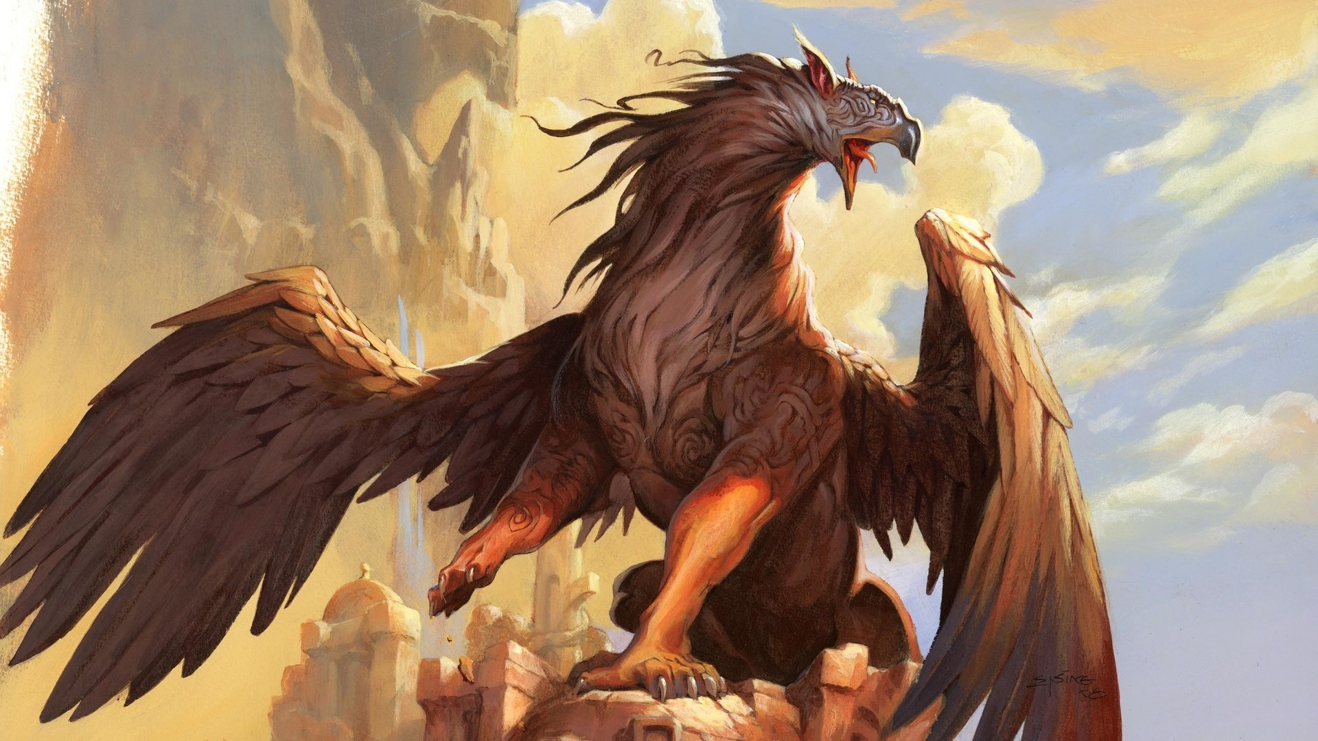 Mythical Creatures Wallpaper theme