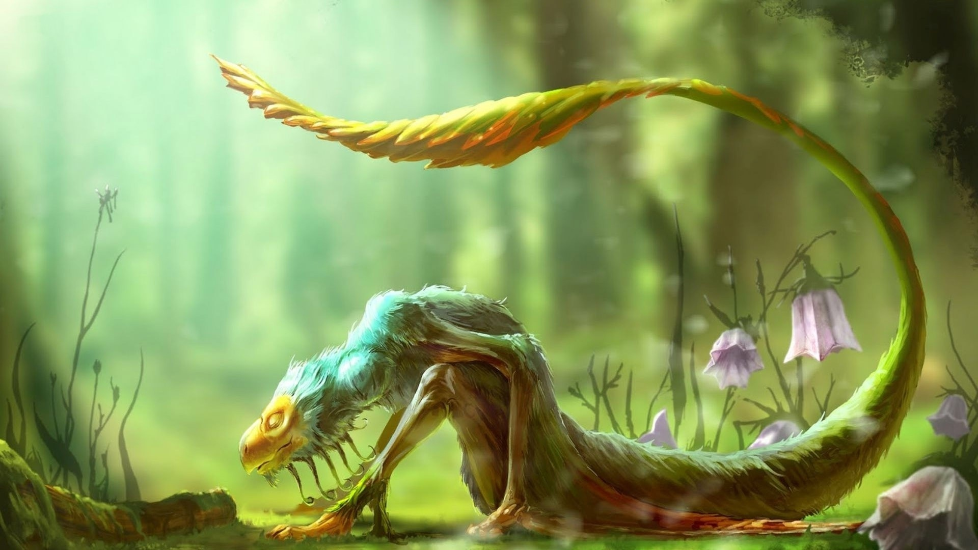 Mythical Creatures Background