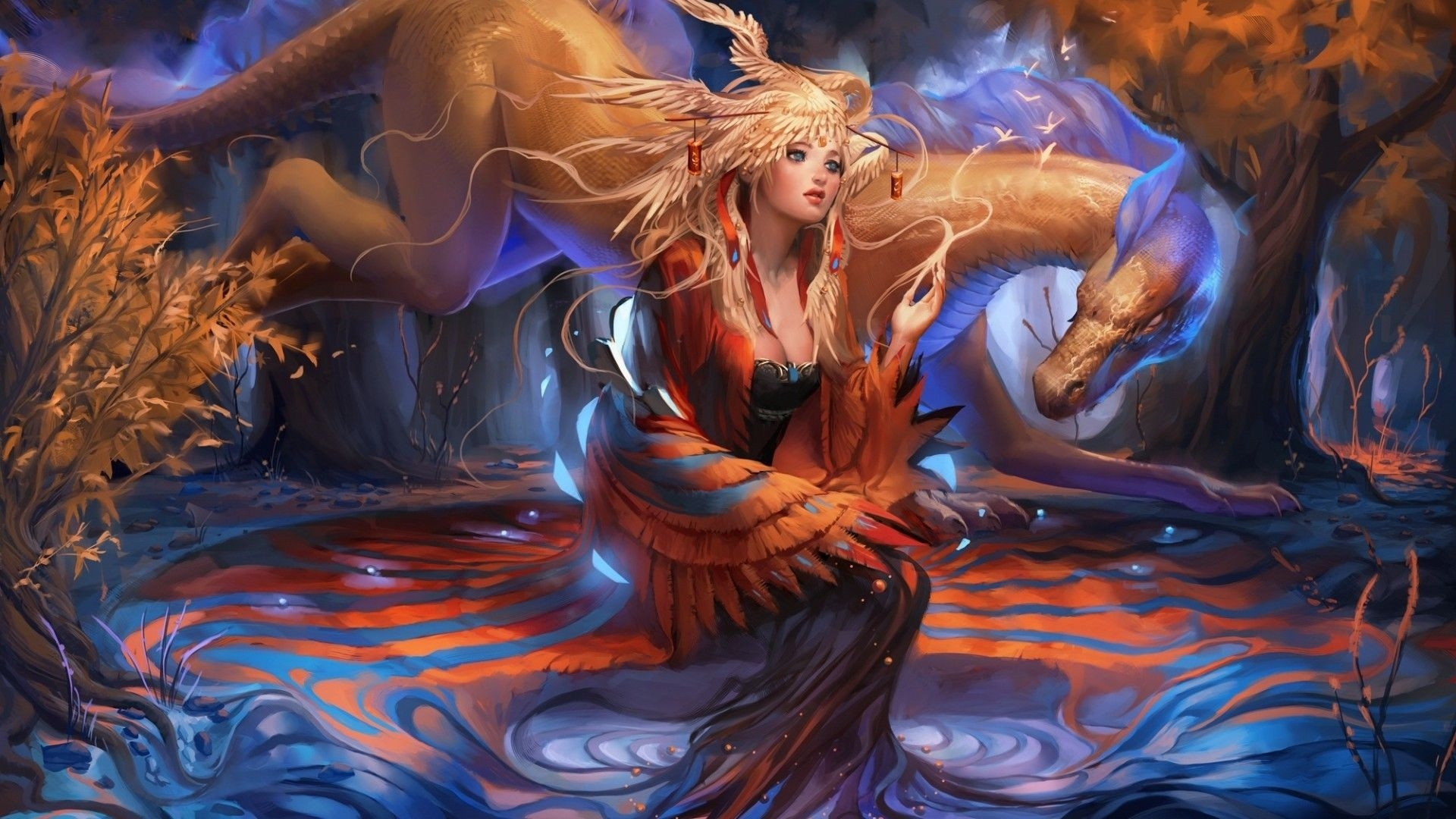 Mythical Creatures Desktop Wallpaper