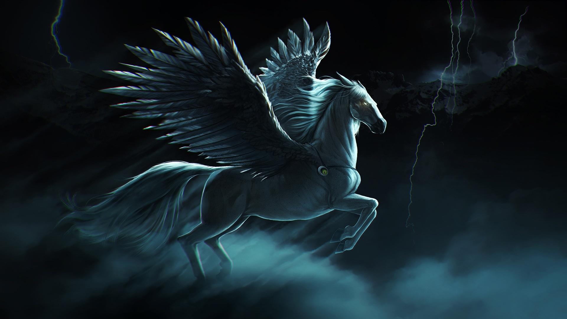 Pegasus Art Desktop Wallpaper
