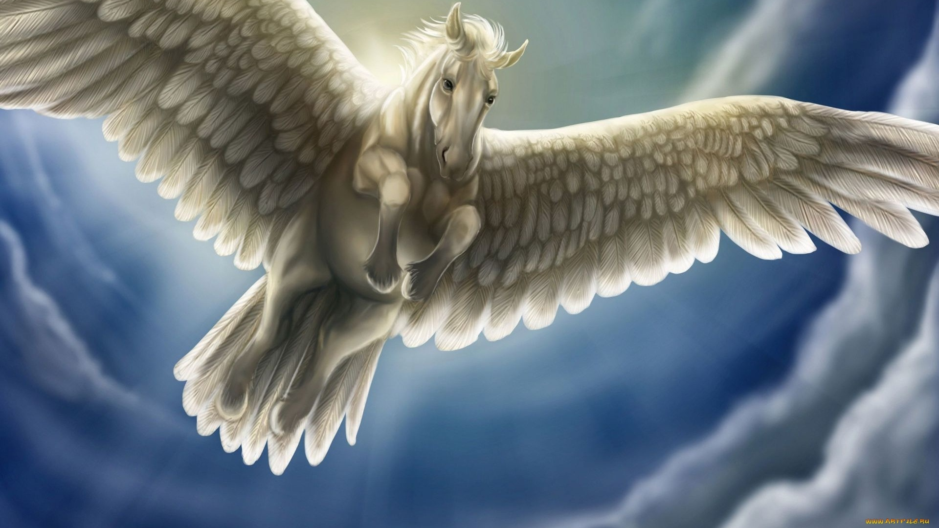 Pegasus Art wallpaper for desktop