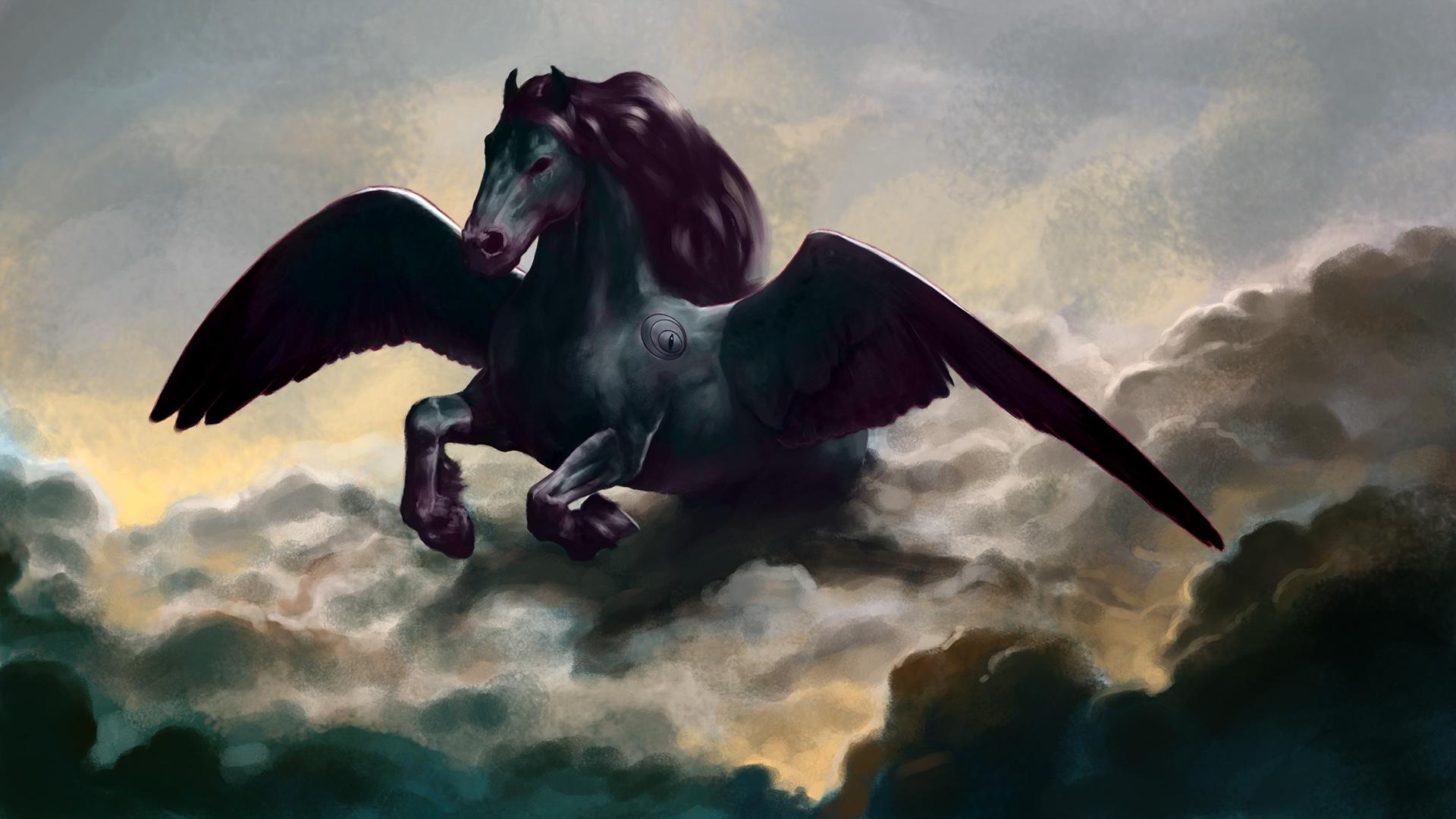 Pegasus Art Background