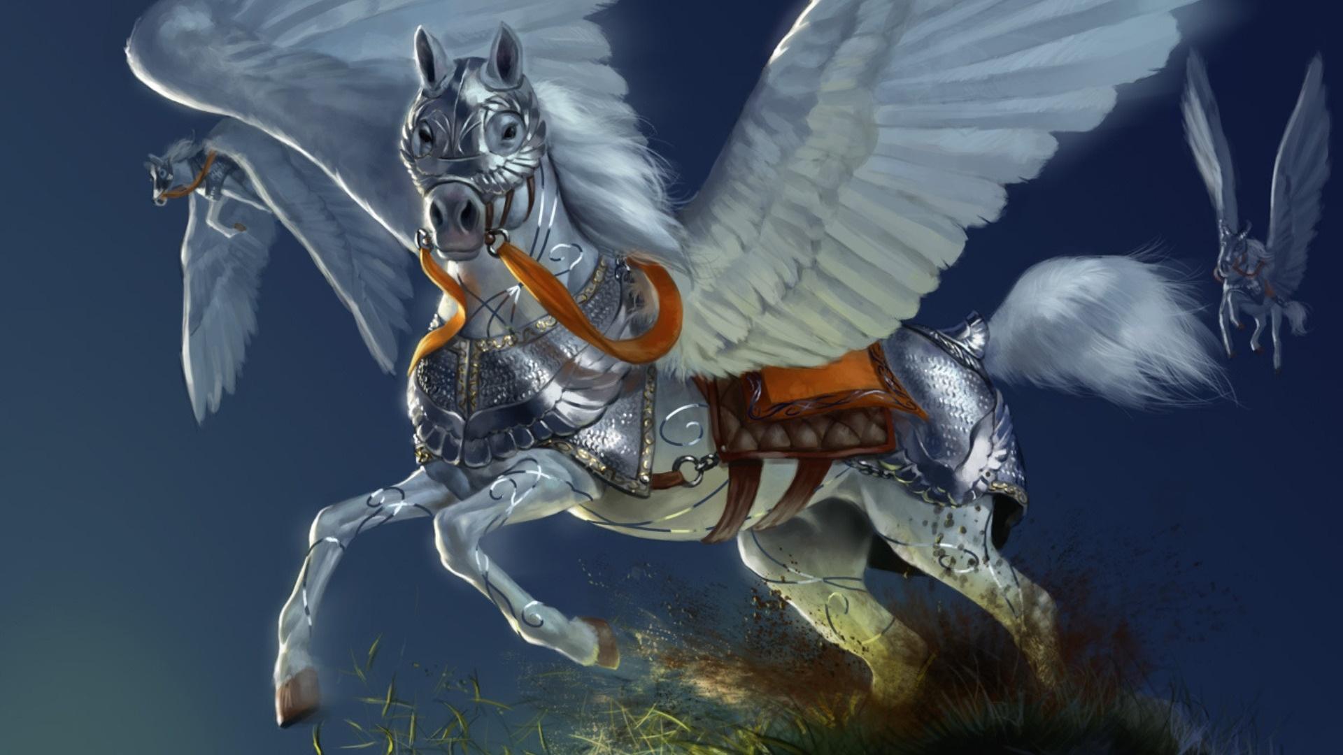 Pegasus Art wallpaper photo hd