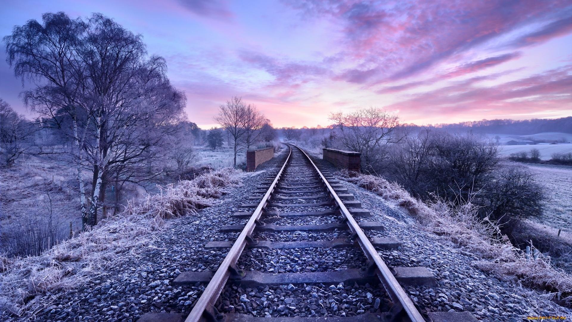 Railroad HD Wallpaper