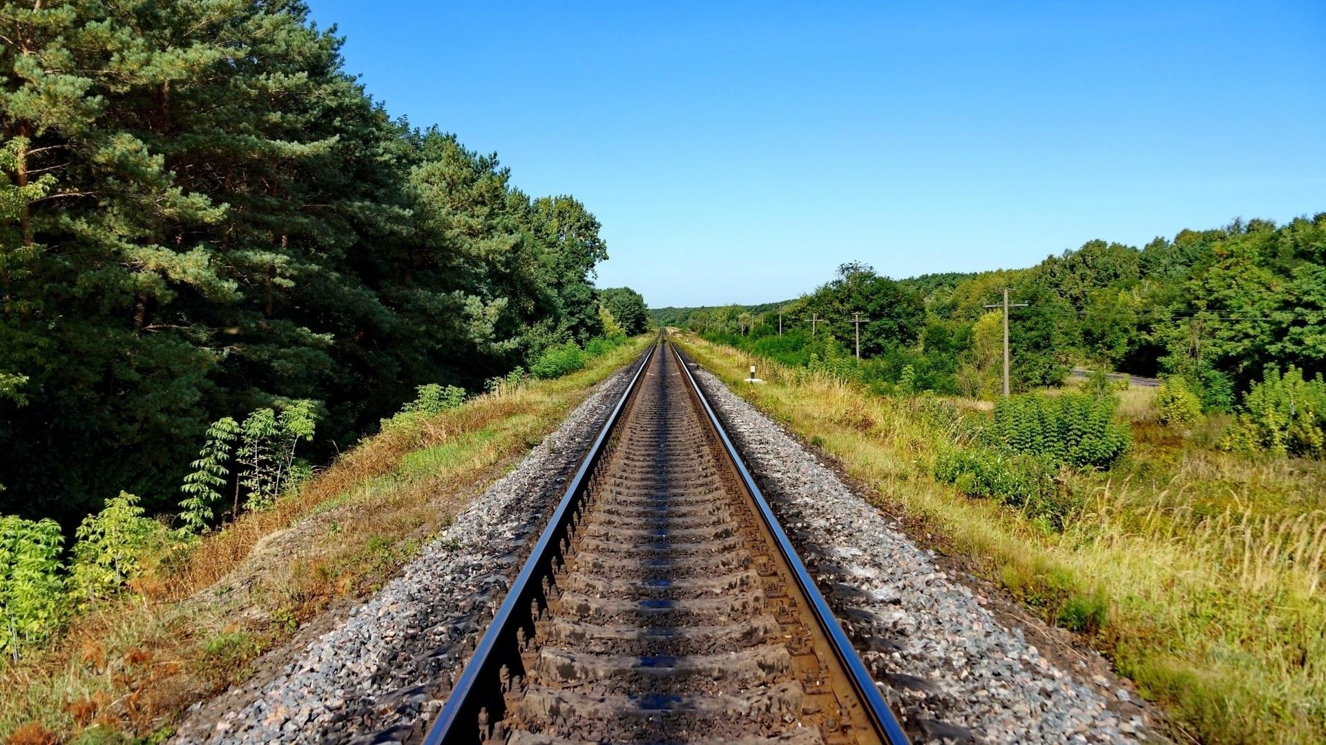Railroad Wallpaper theme