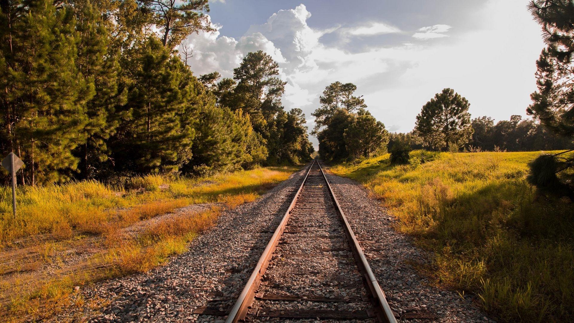 Railroad computer wallpaper
