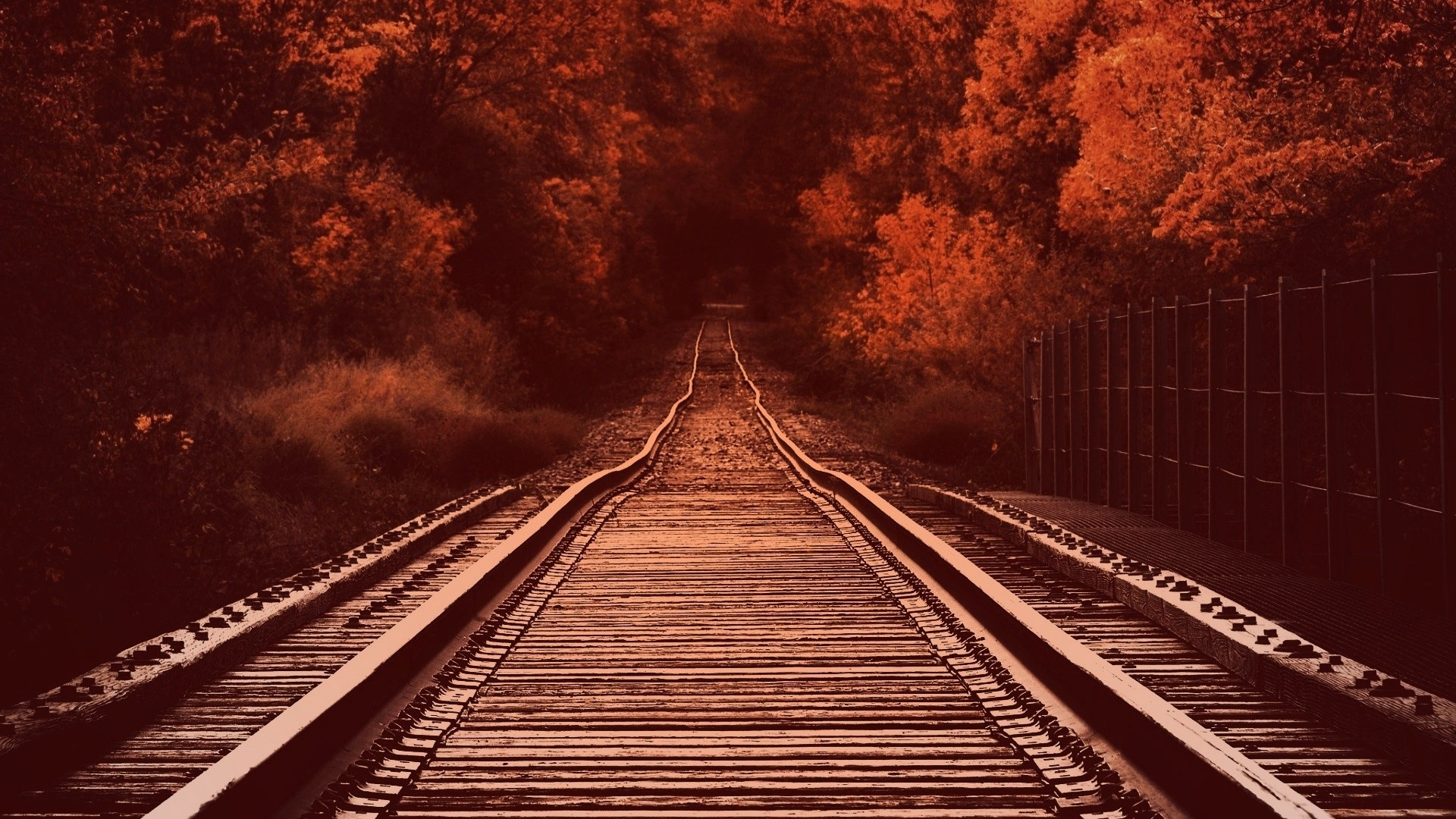 Railroad wallpaper for desktop