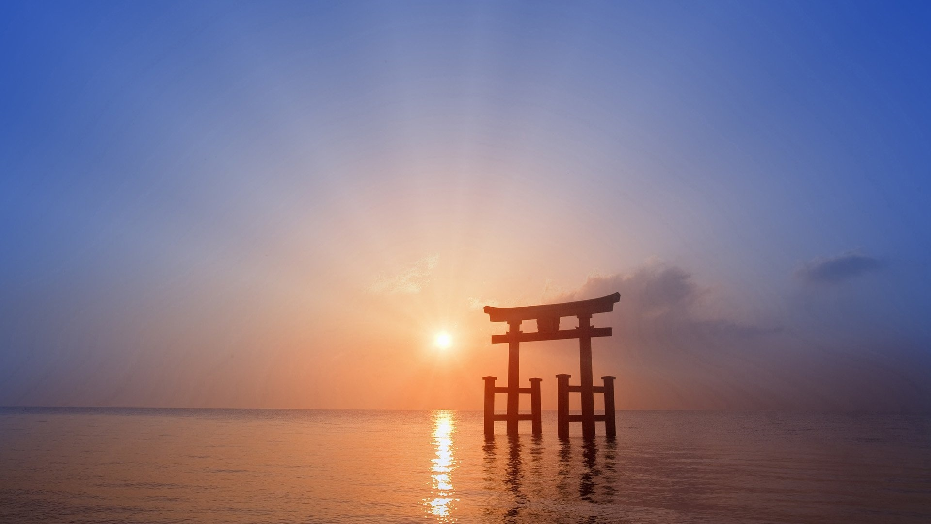 Torii Gate Background
