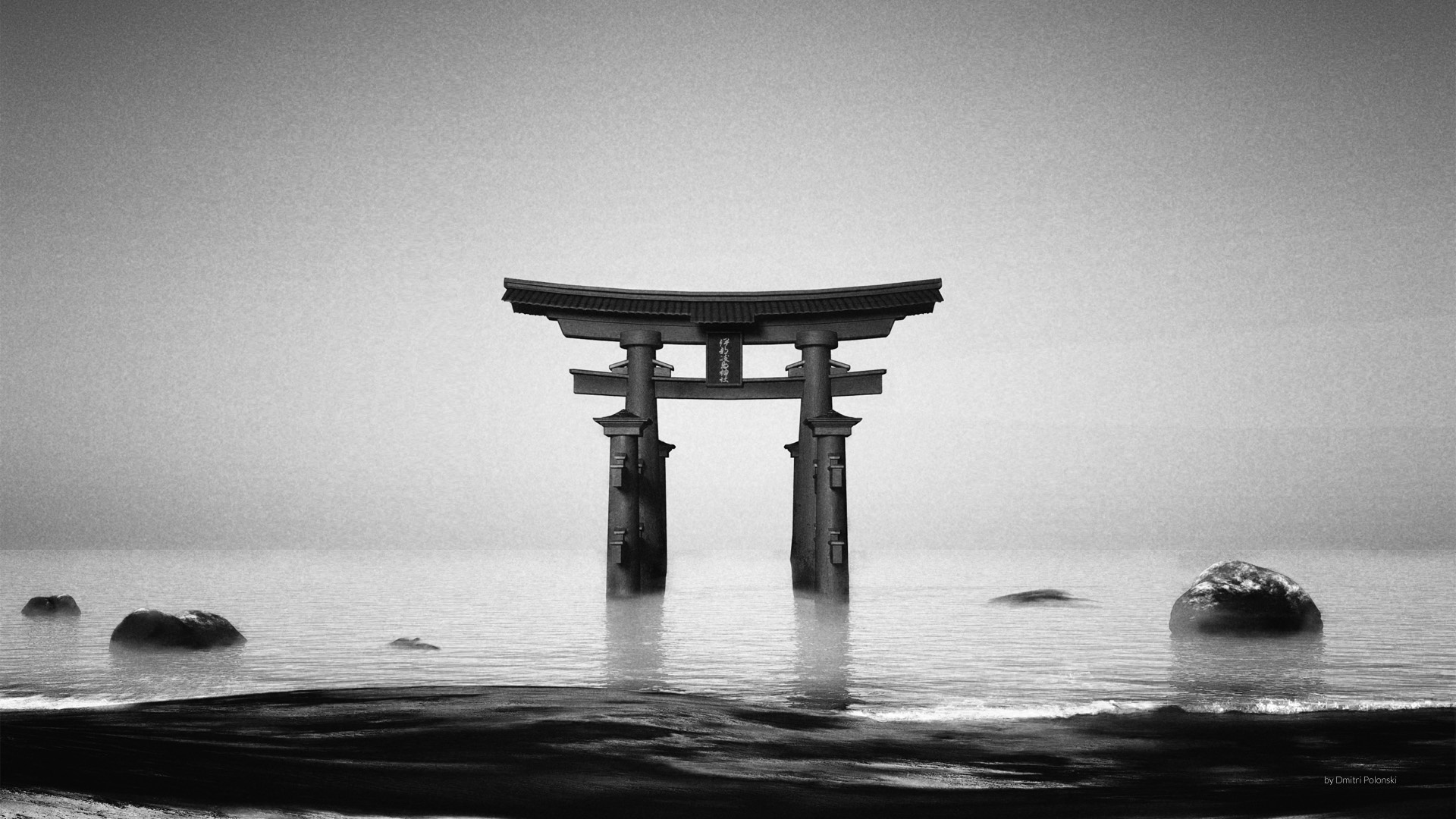 Torii Gate wallpaper for computer