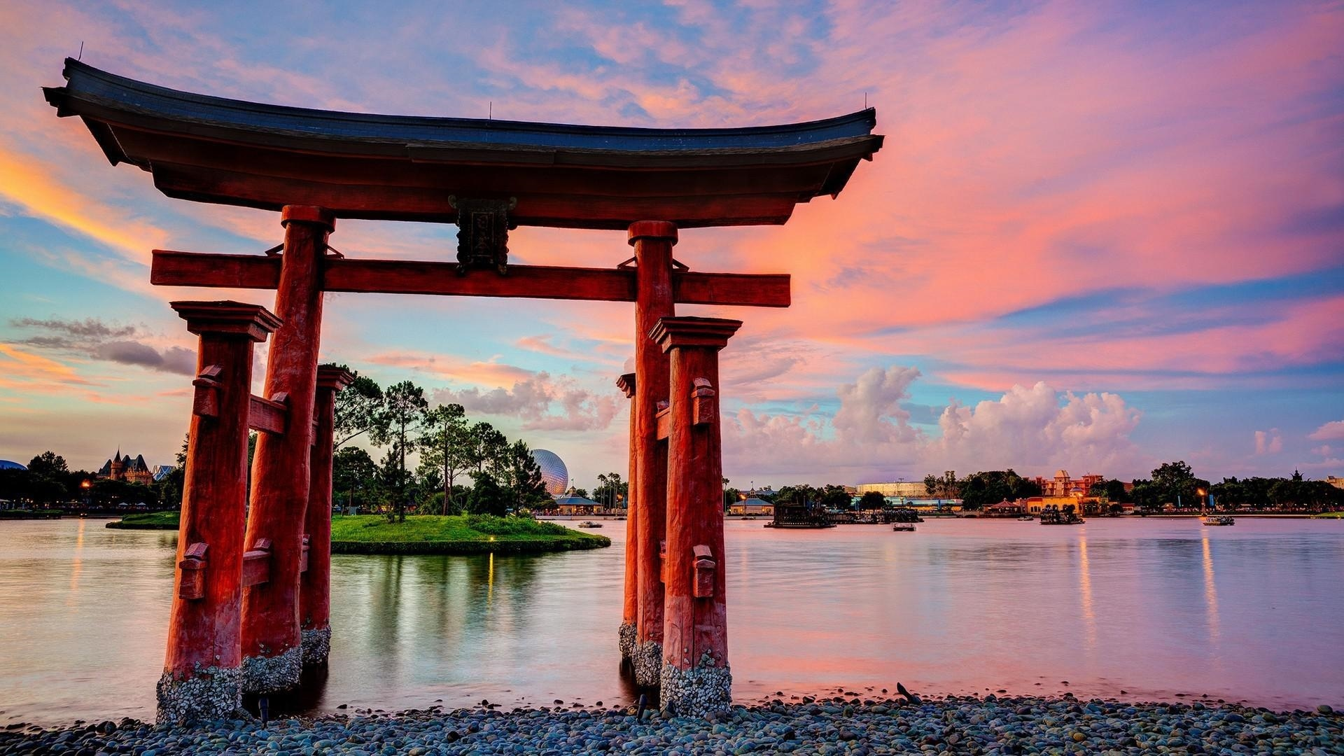 Torii Gate desktop wallpaper hd