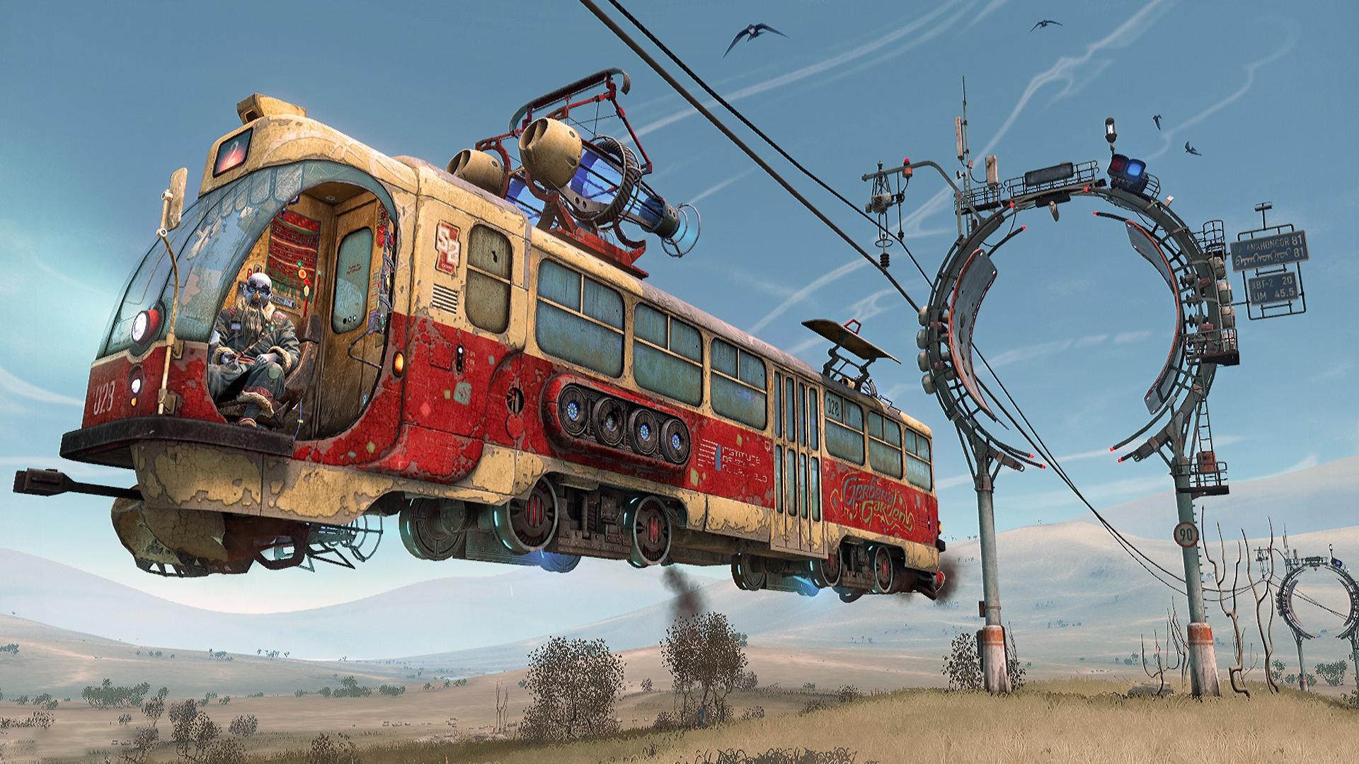 Tram Wallpaper