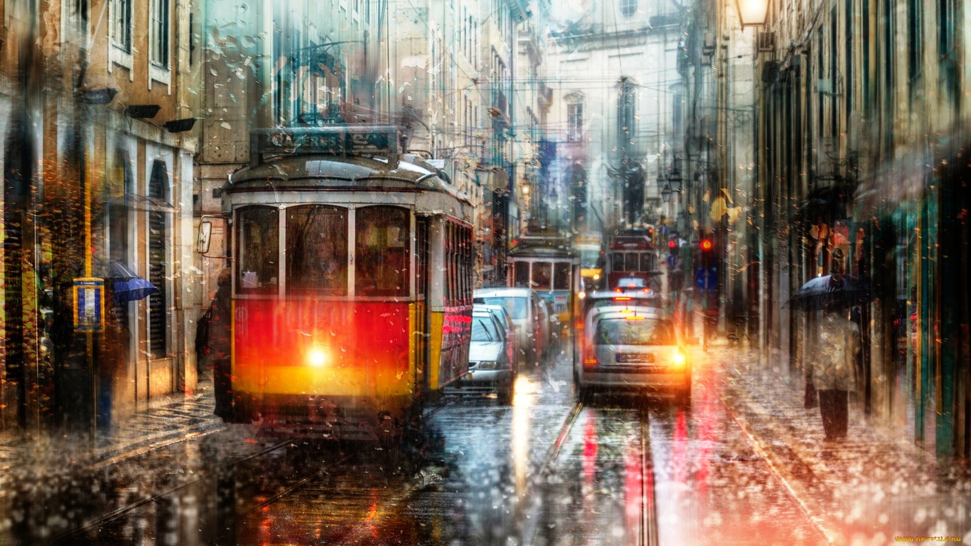 Tram wallpaper for pc
